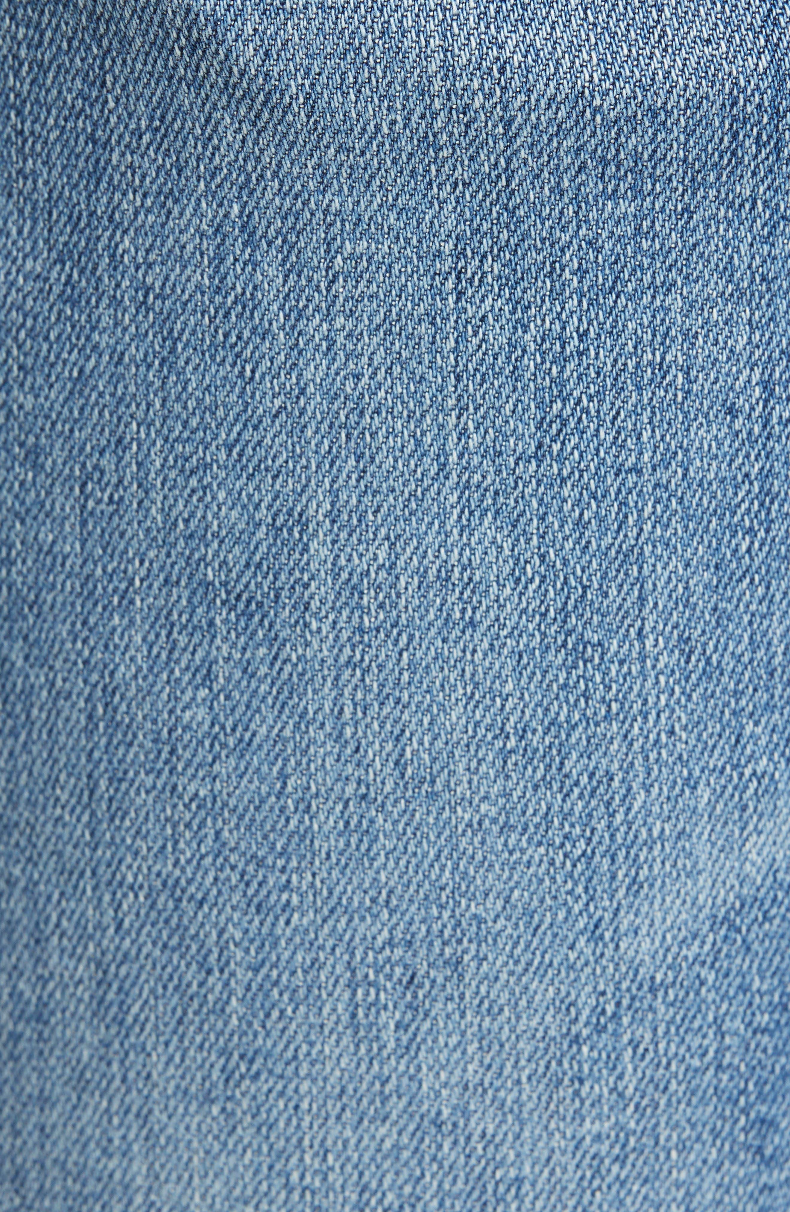 AG, Tellis Slim Fit Jeans, Alternate thumbnail 6, color, 16 YEARS EAVES