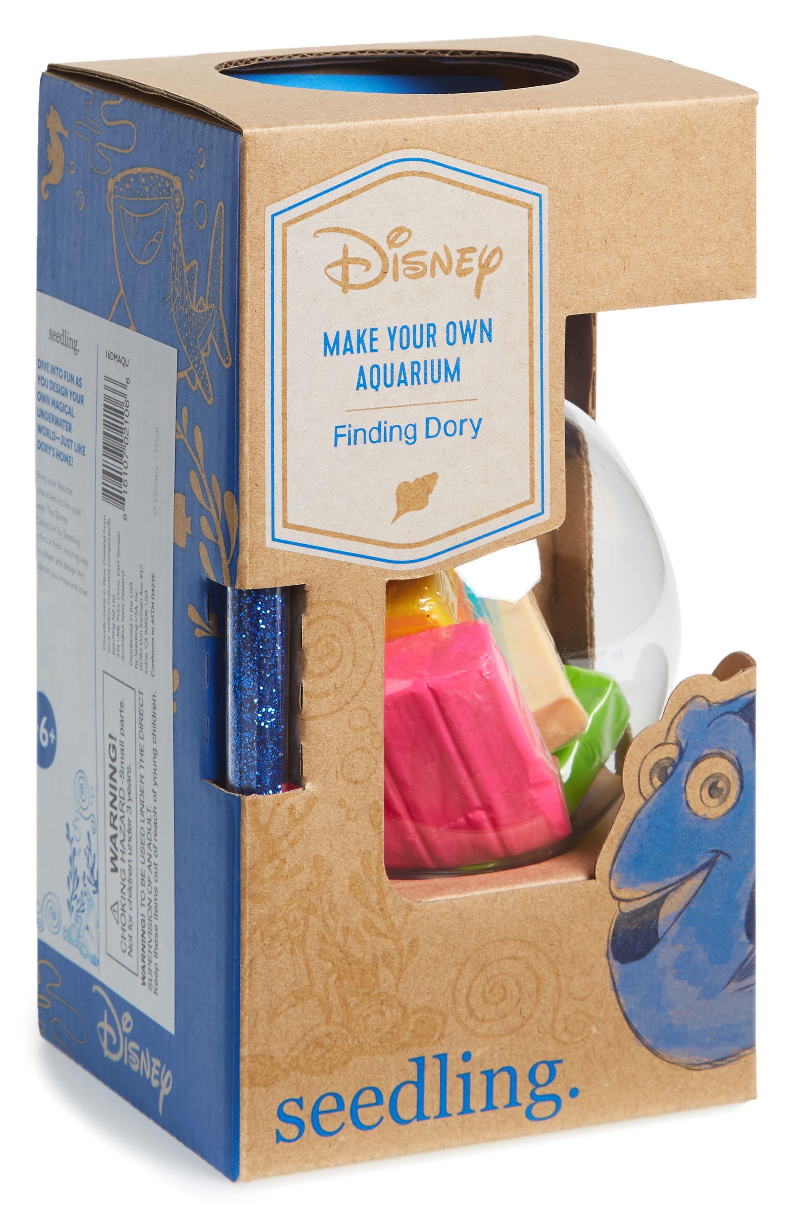 SEEDLING Disney Finding Dory Make Your Own Aquarium Craft Kit, Main, color, 250