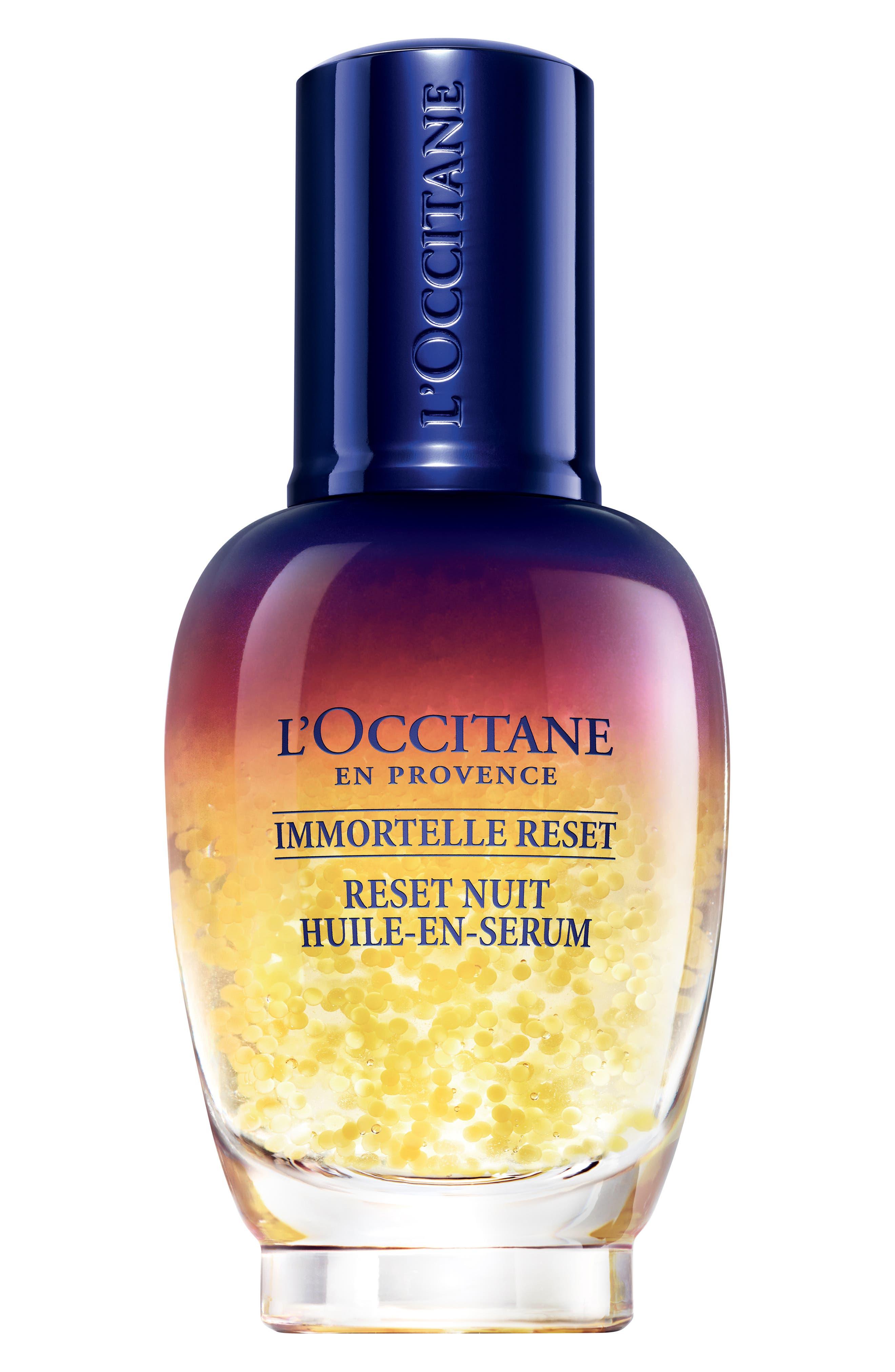 L'OCCITANE Immortelle Overnight Reset Oil-in-Serum, Main, color, 000