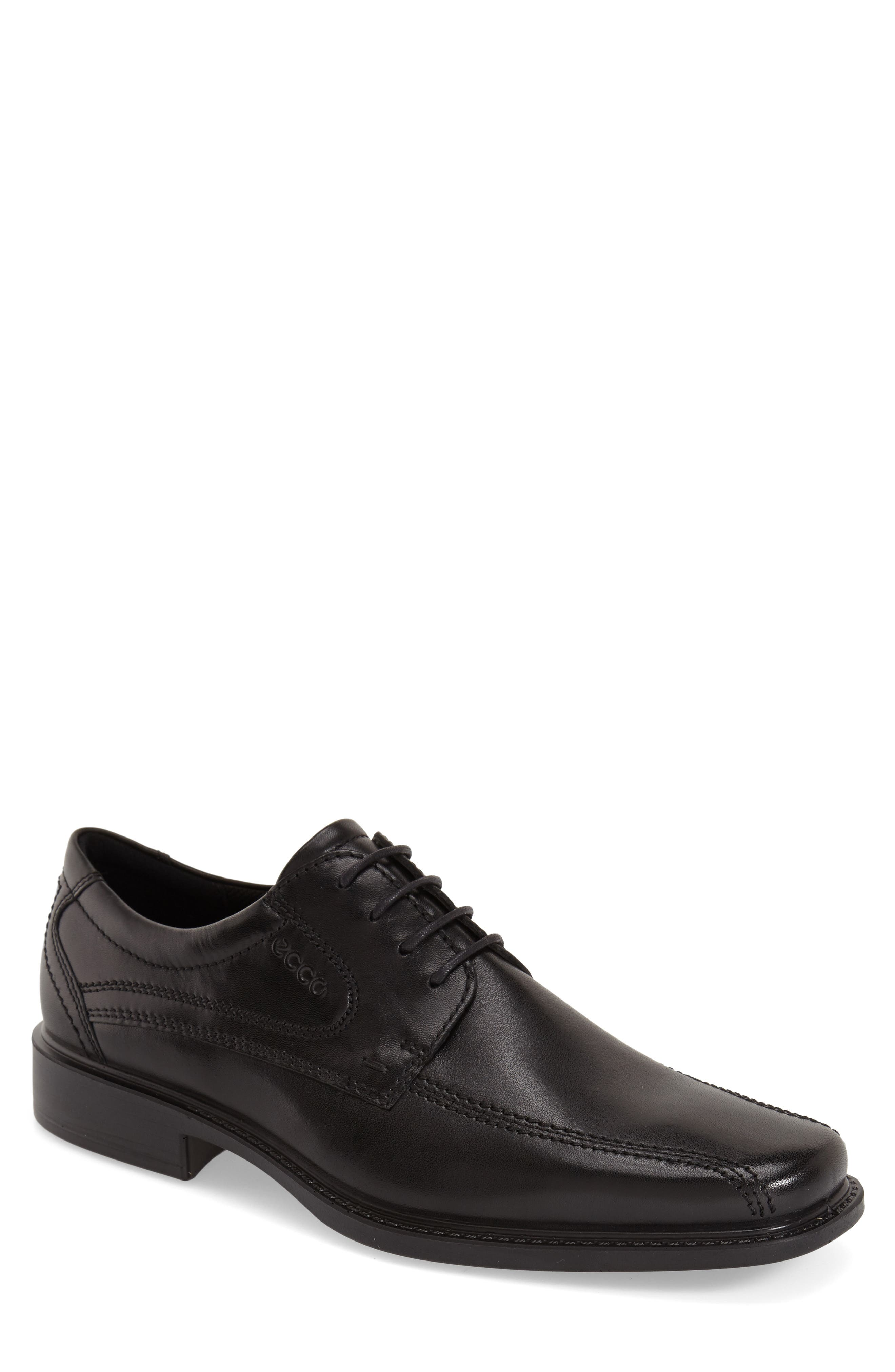 ECCO, 'New Jersey' Bicycle Toe Oxford, Alternate thumbnail 2, color, BLACK