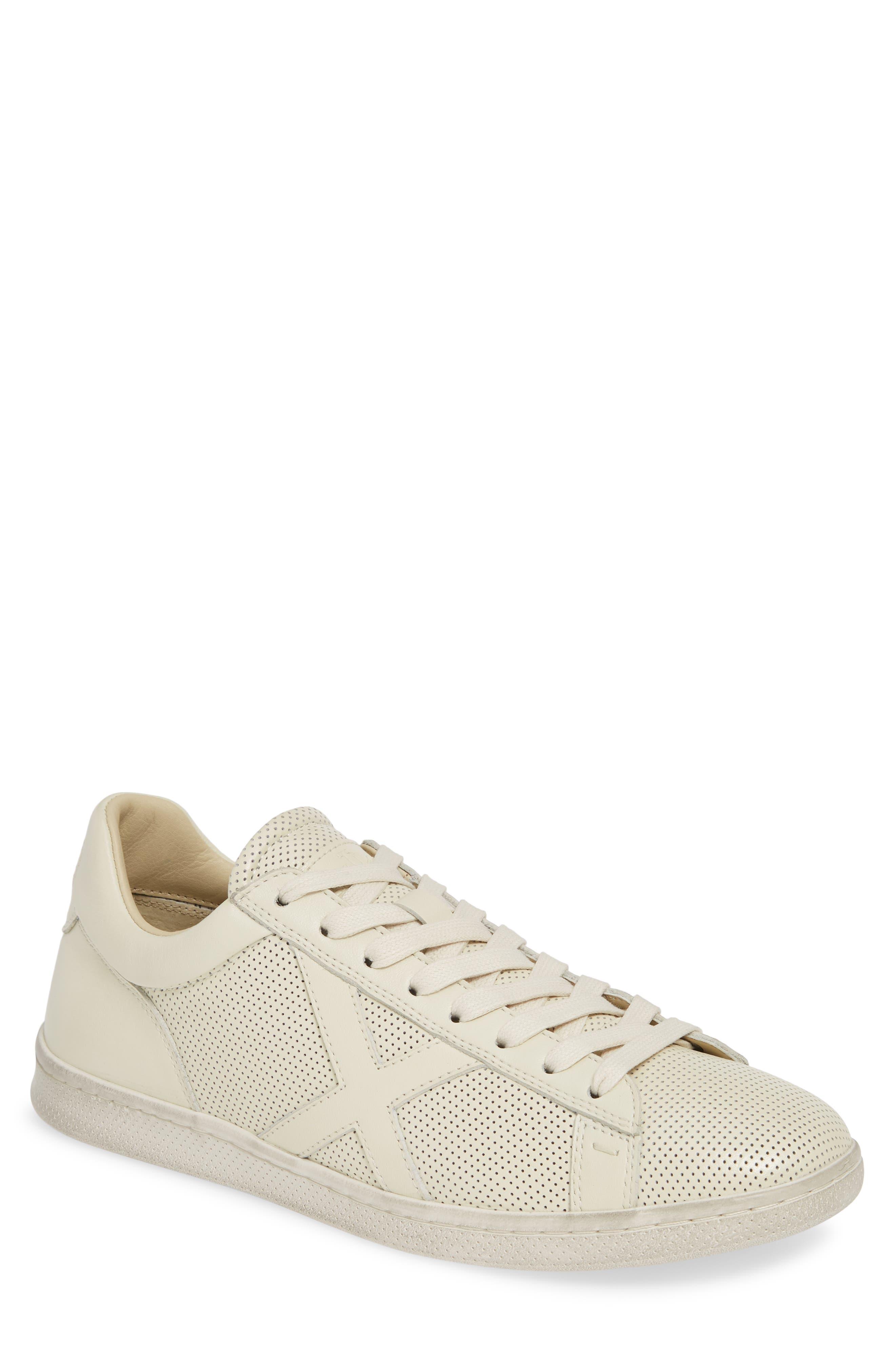 Bootleg By John Varvatos Perforated Sneaker- White
