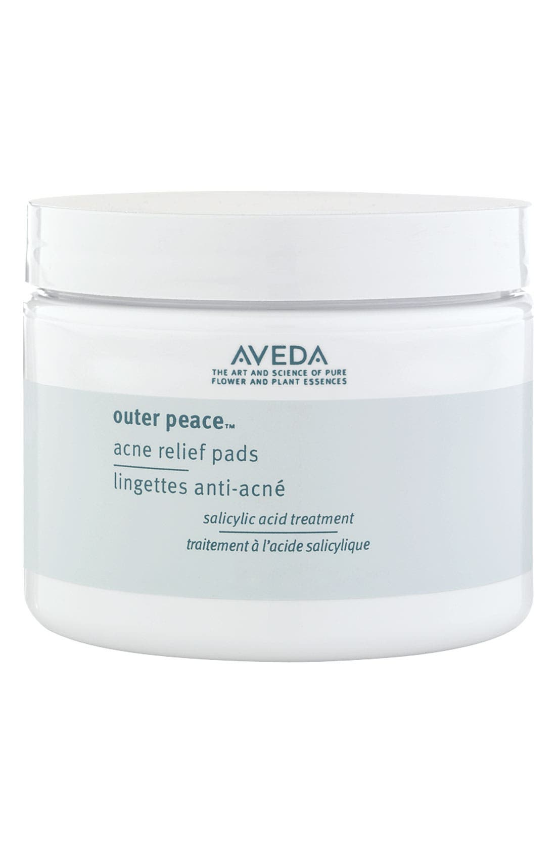 AVEDA, outer peace<sup>™</sup> Acne Relief Pads, Main thumbnail 1, color, 000
