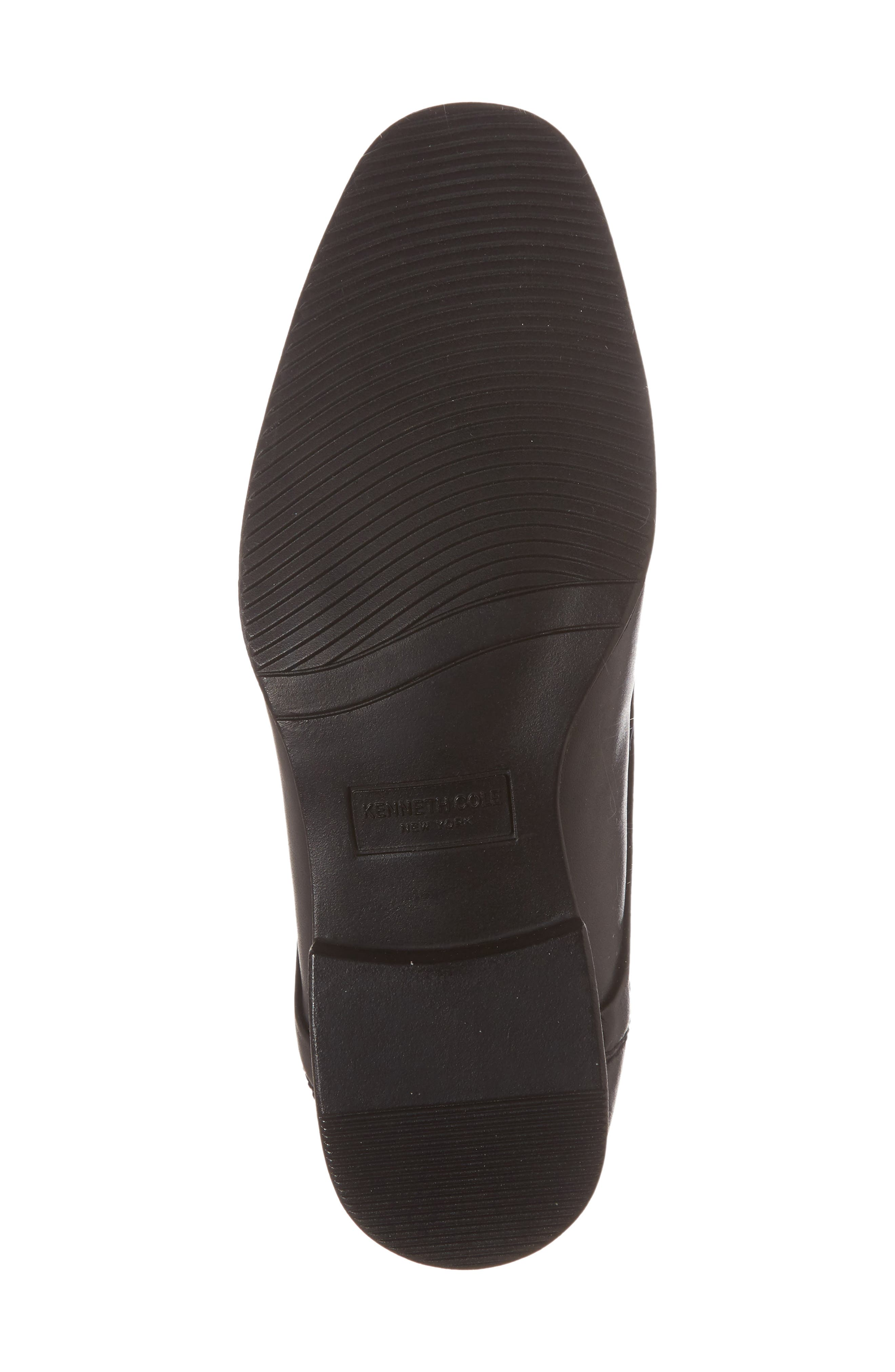REACTION KENNETH COLE, Straight Line Derby, Alternate thumbnail 6, color, BLACK