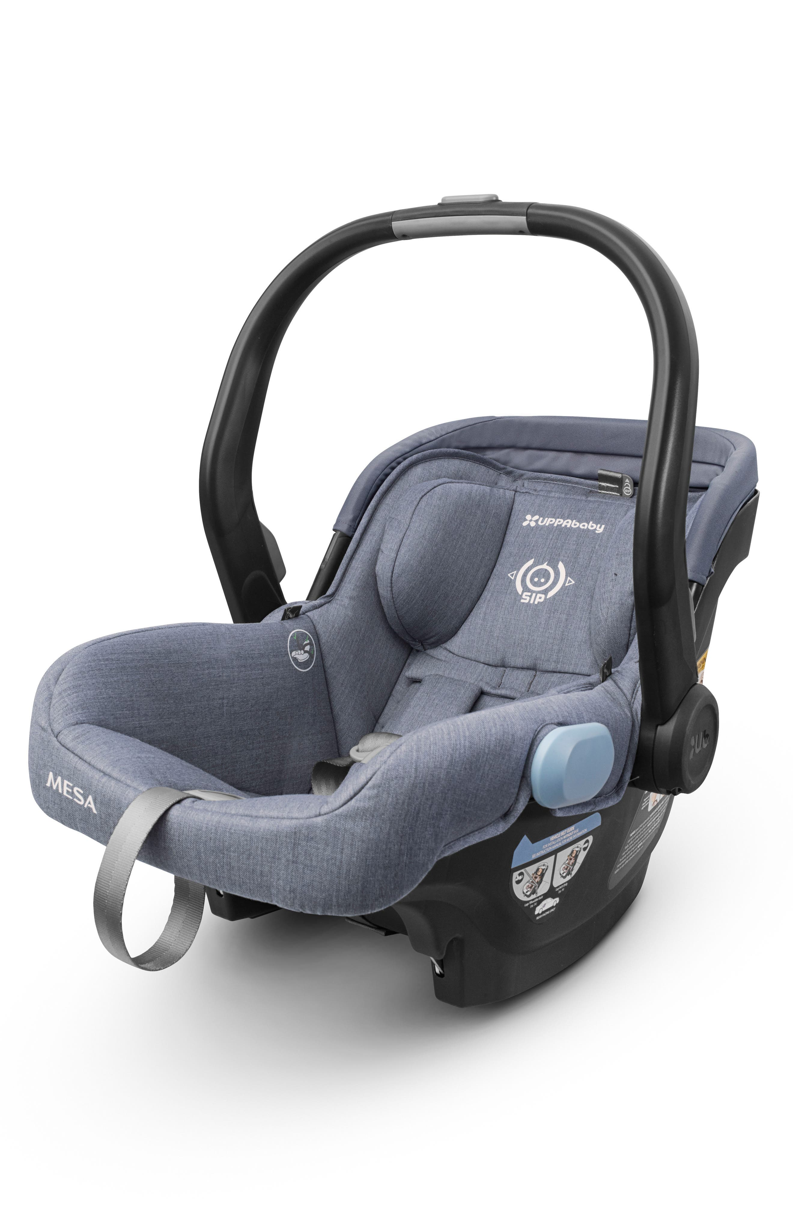 UPPABABY, MESA Henry Special Edition Car Seat, Alternate thumbnail 3, color, BLUE MARL