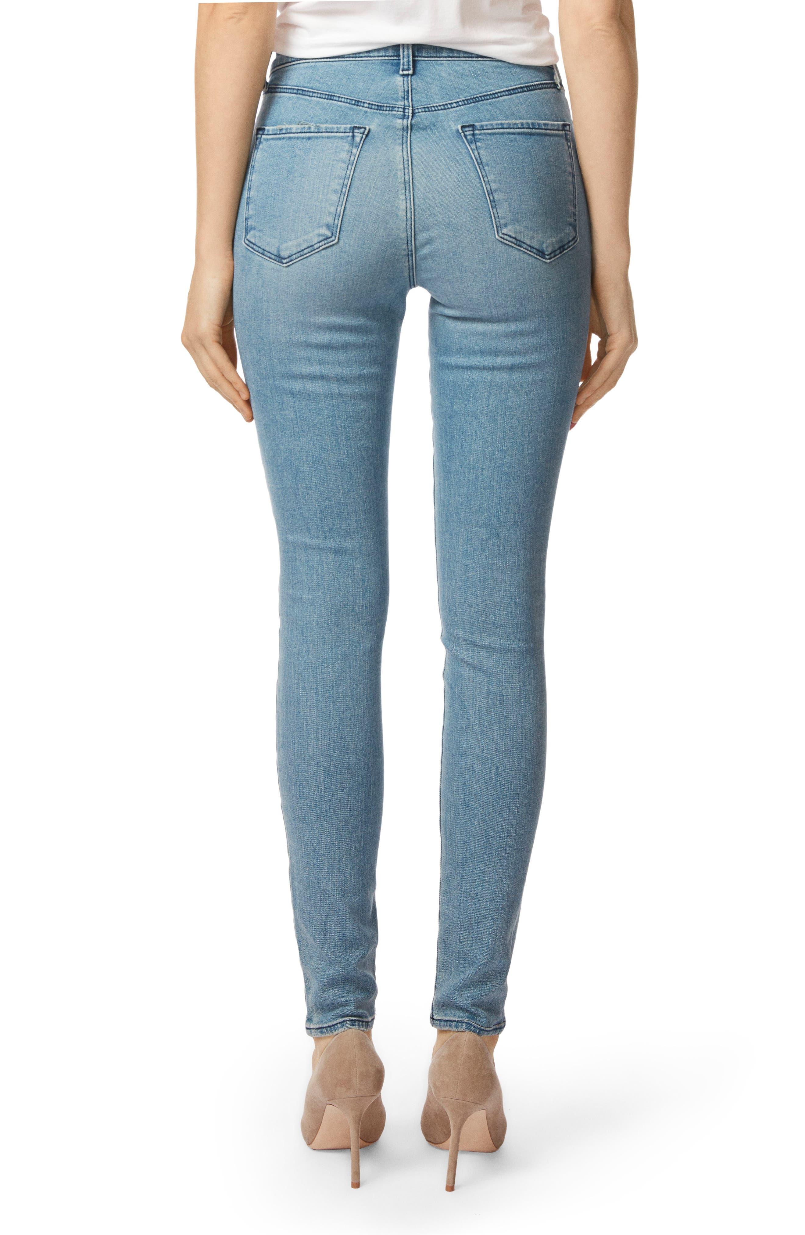 J BRAND, Maria High Waist Skinny Jeans, Alternate thumbnail 2, color, 407