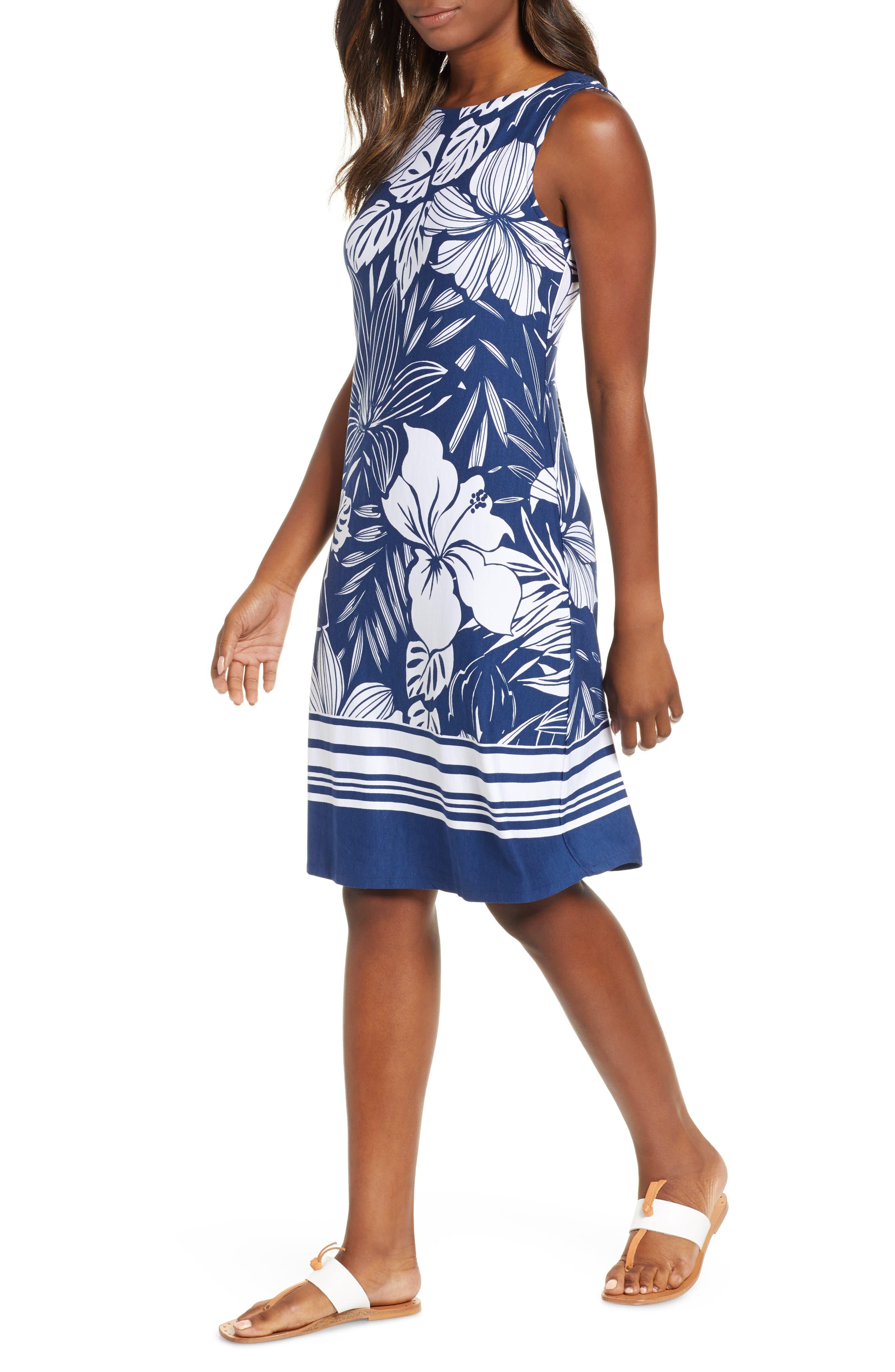 Tommy Bahama Mahana Beach Sheath Dress, Blue