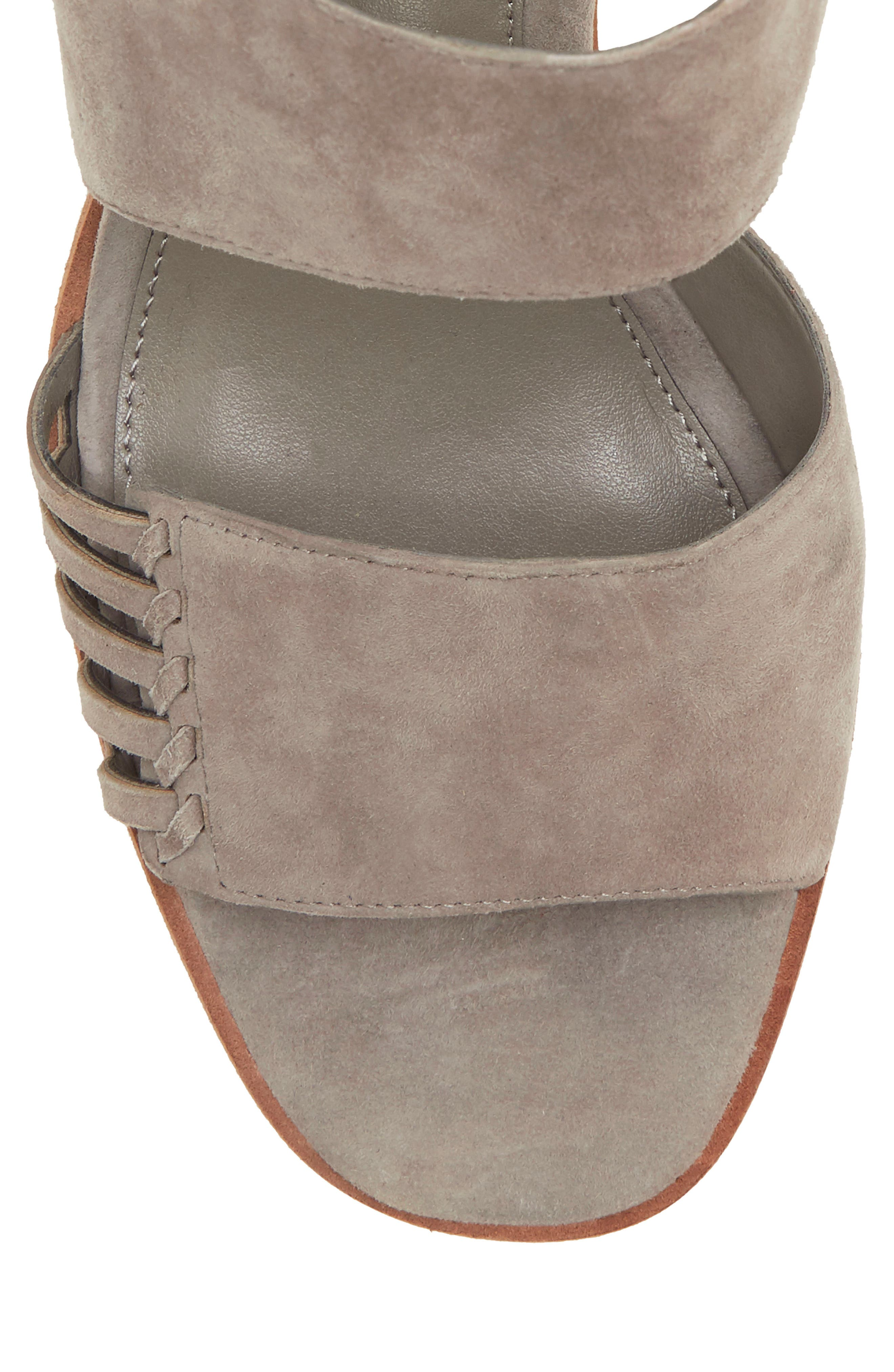 VINCE CAMUTO, Karmelo Slingback Sandal, Alternate thumbnail 8, color, STORM GREY LEATHER