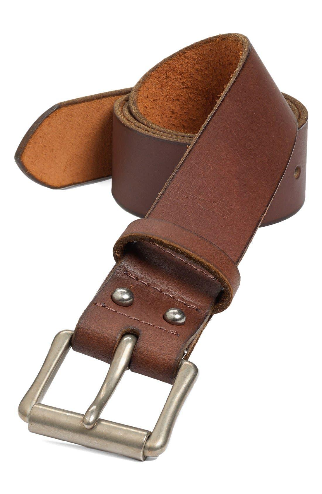 RED WING 'Pioneer' Belt, Main, color, ORO/ NICKEL