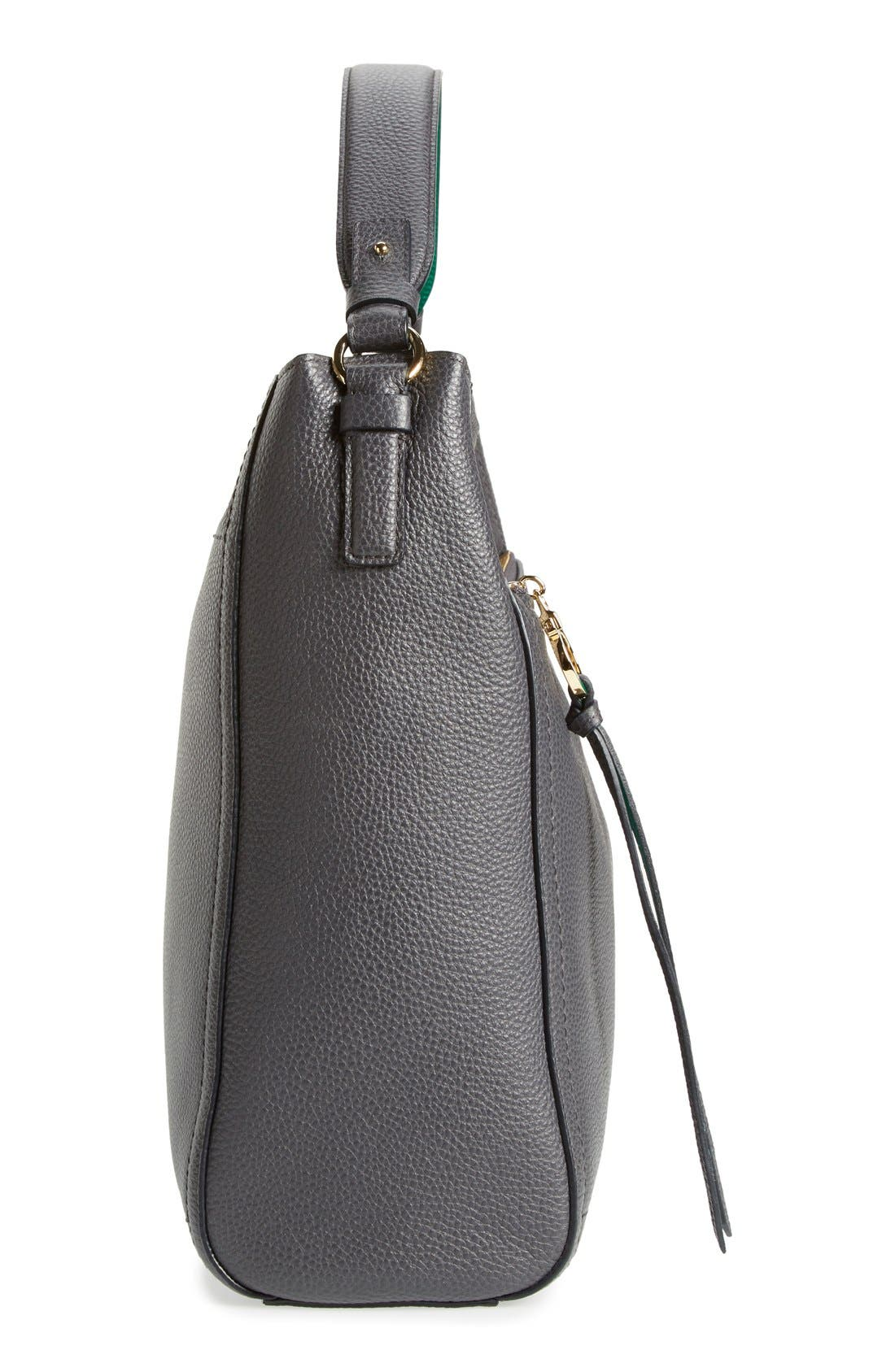 SALVATORE FERRAGAMO, 'Ally' Hobo, Alternate thumbnail 4, color, 020