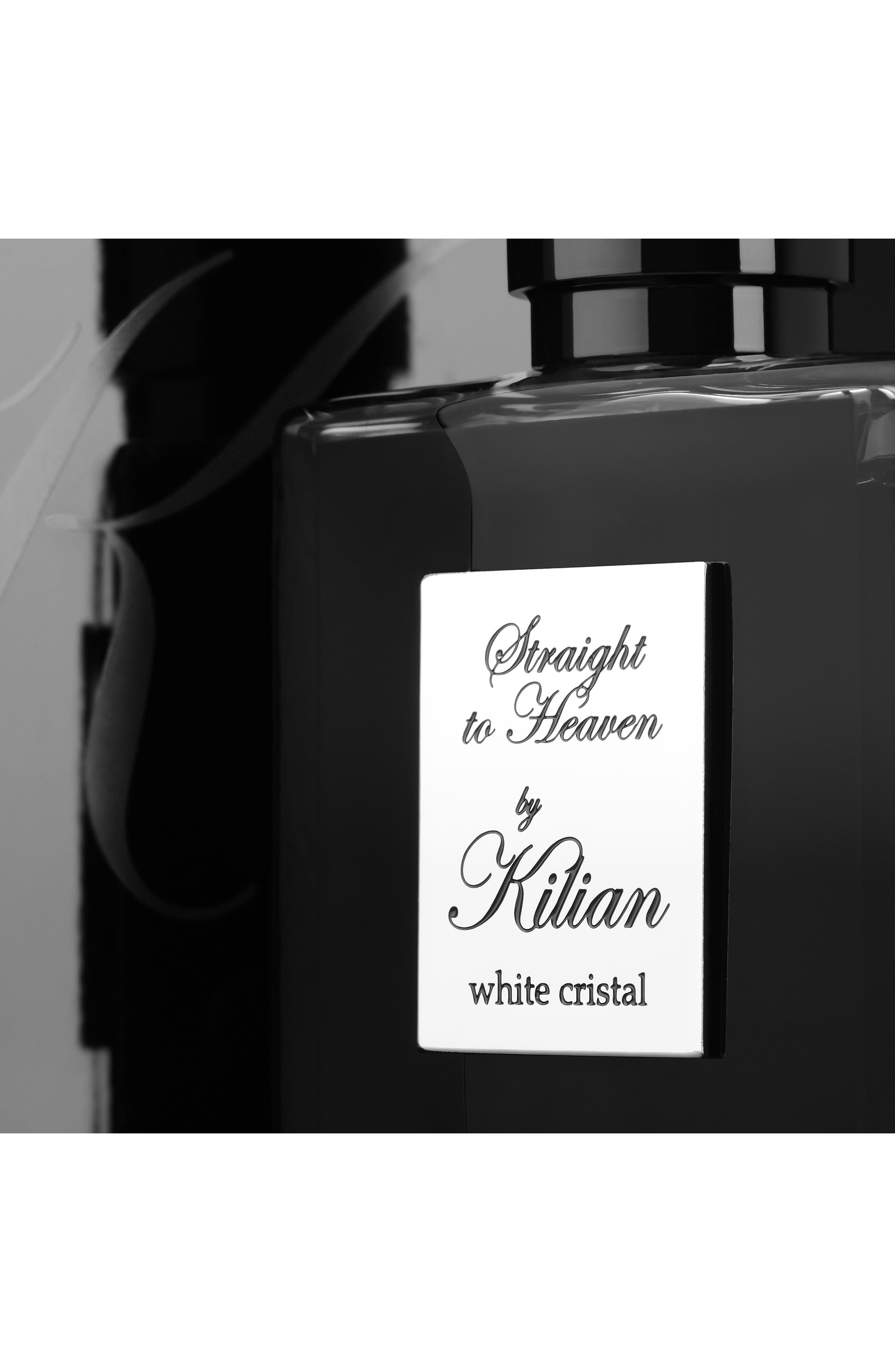 KILIAN, 'L'Oeuvre Noire - Straight to Heaven, white cristal' Refillable Fragrance Spray, Alternate thumbnail 6, color, NO COLOR