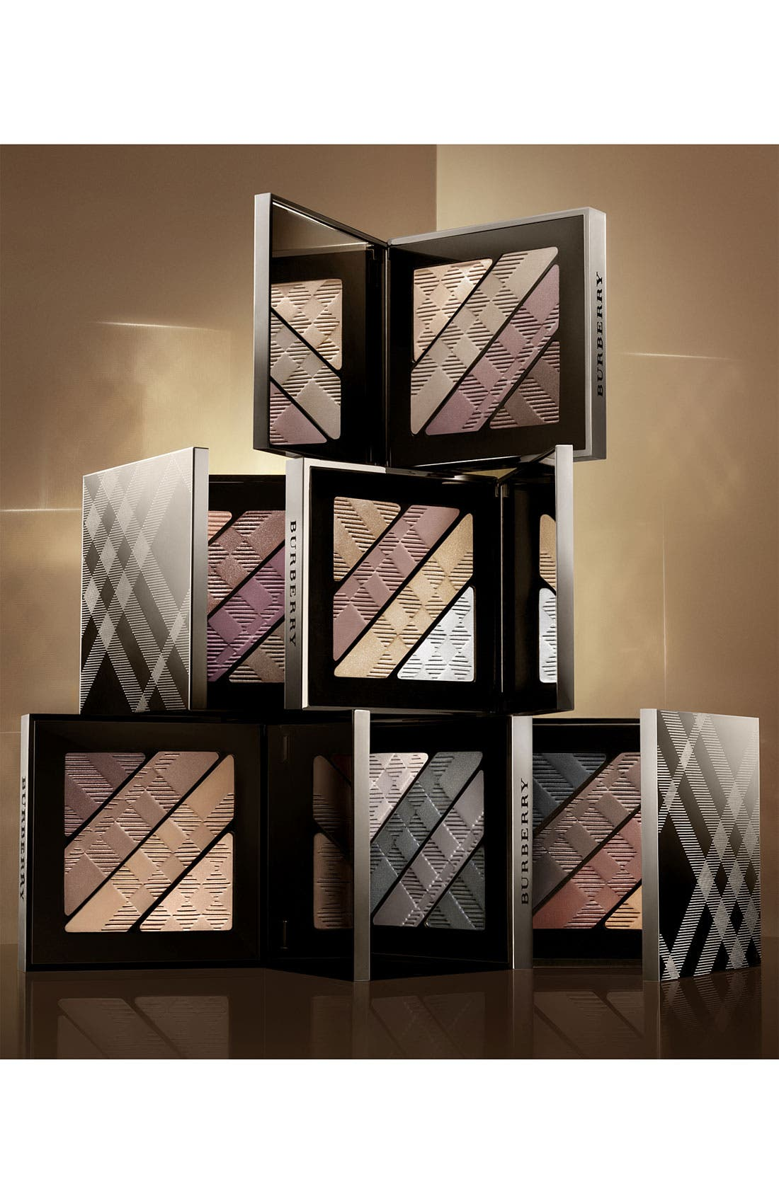 BURBERRY BEAUTY, Complete Eye Palette, Alternate thumbnail 2, color, NO. 00 SMOKEY BROWN