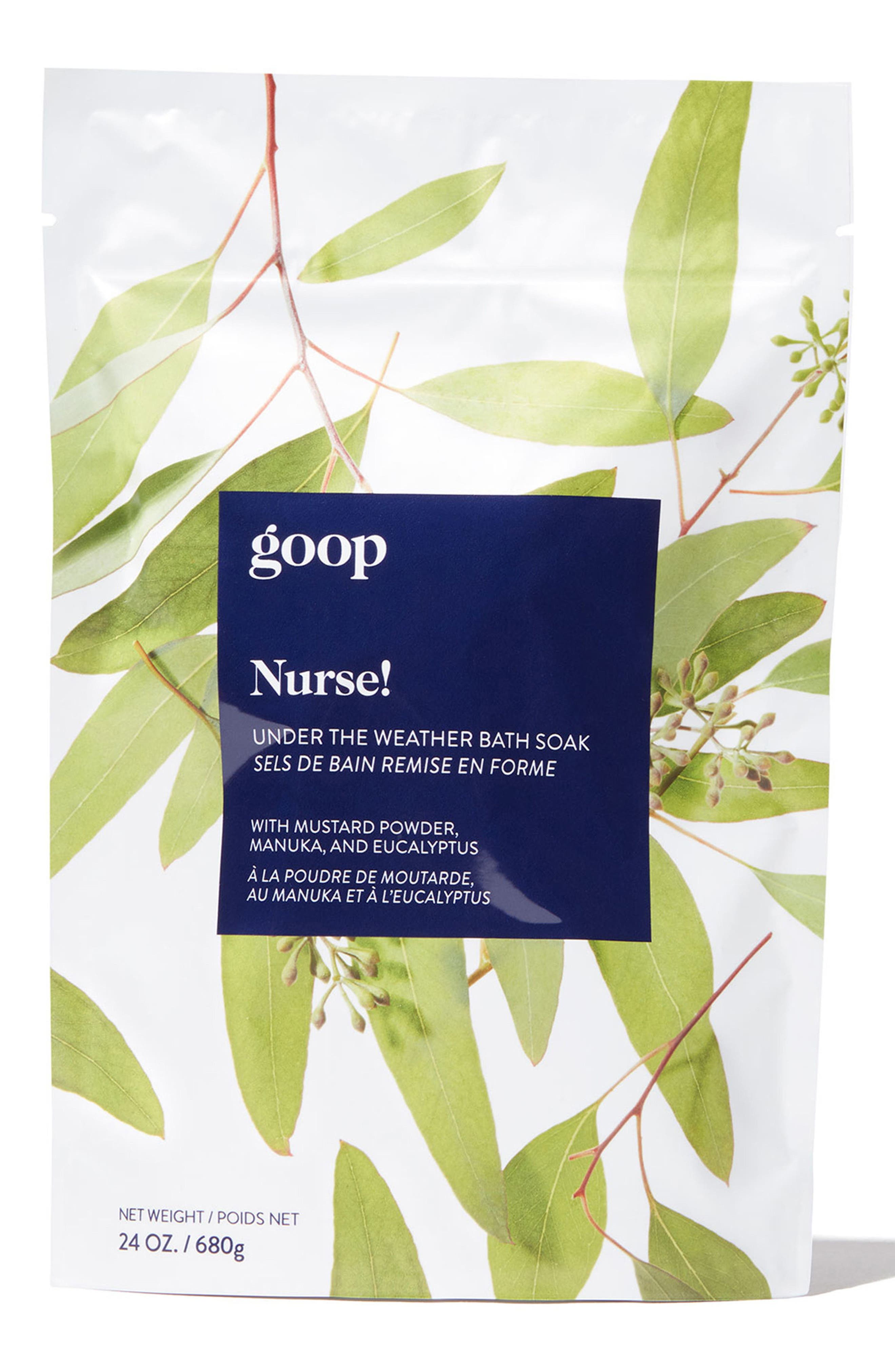 GOOP Nurse! Under the Weather Bath Soak, Main, color, NO COLOR