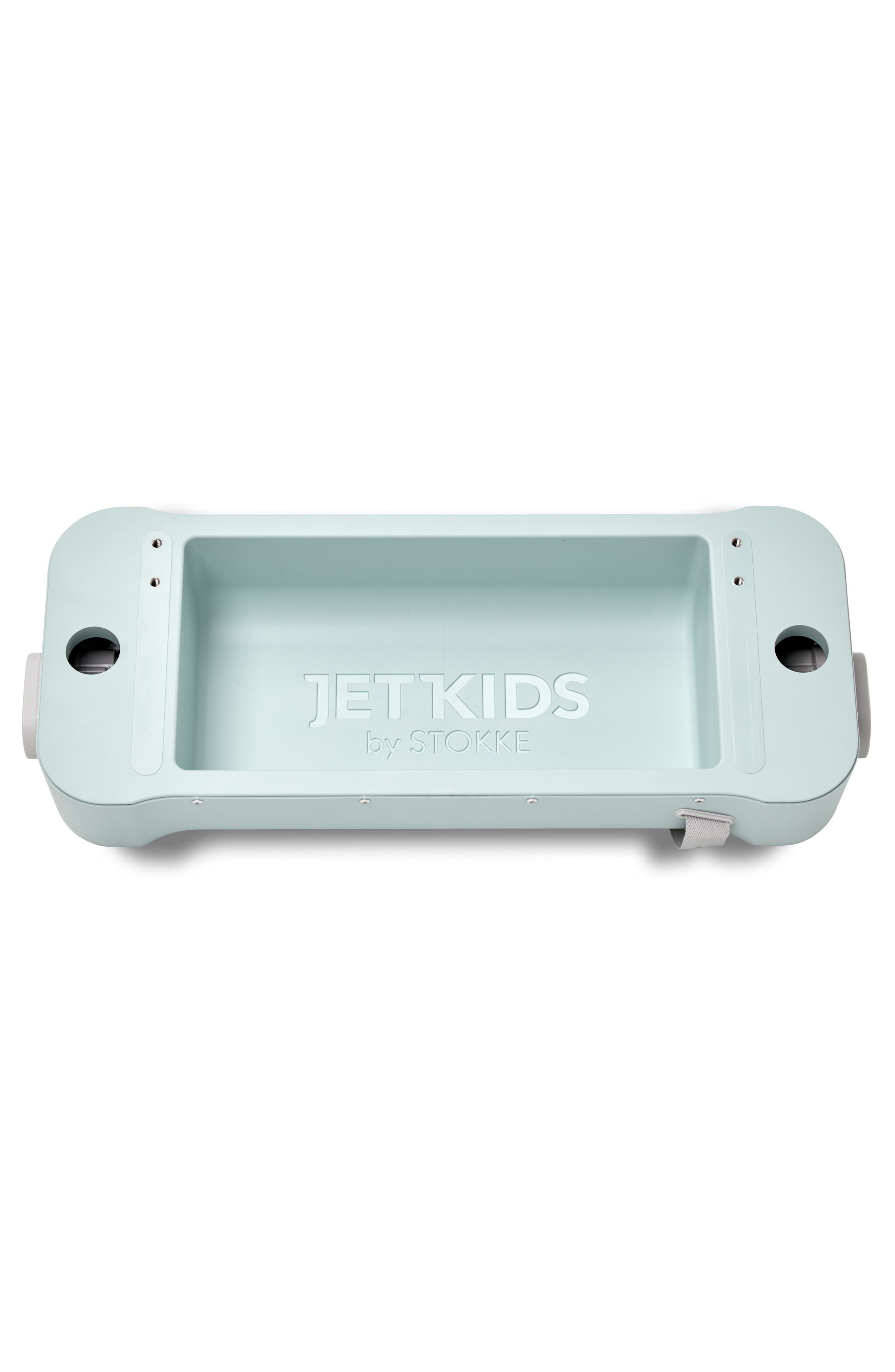 STOKKE, Jetkids by Stokke Bedbox<sup>®</sup> Ride-On Carry-On Suitcase, Alternate thumbnail 7, color, GREEN