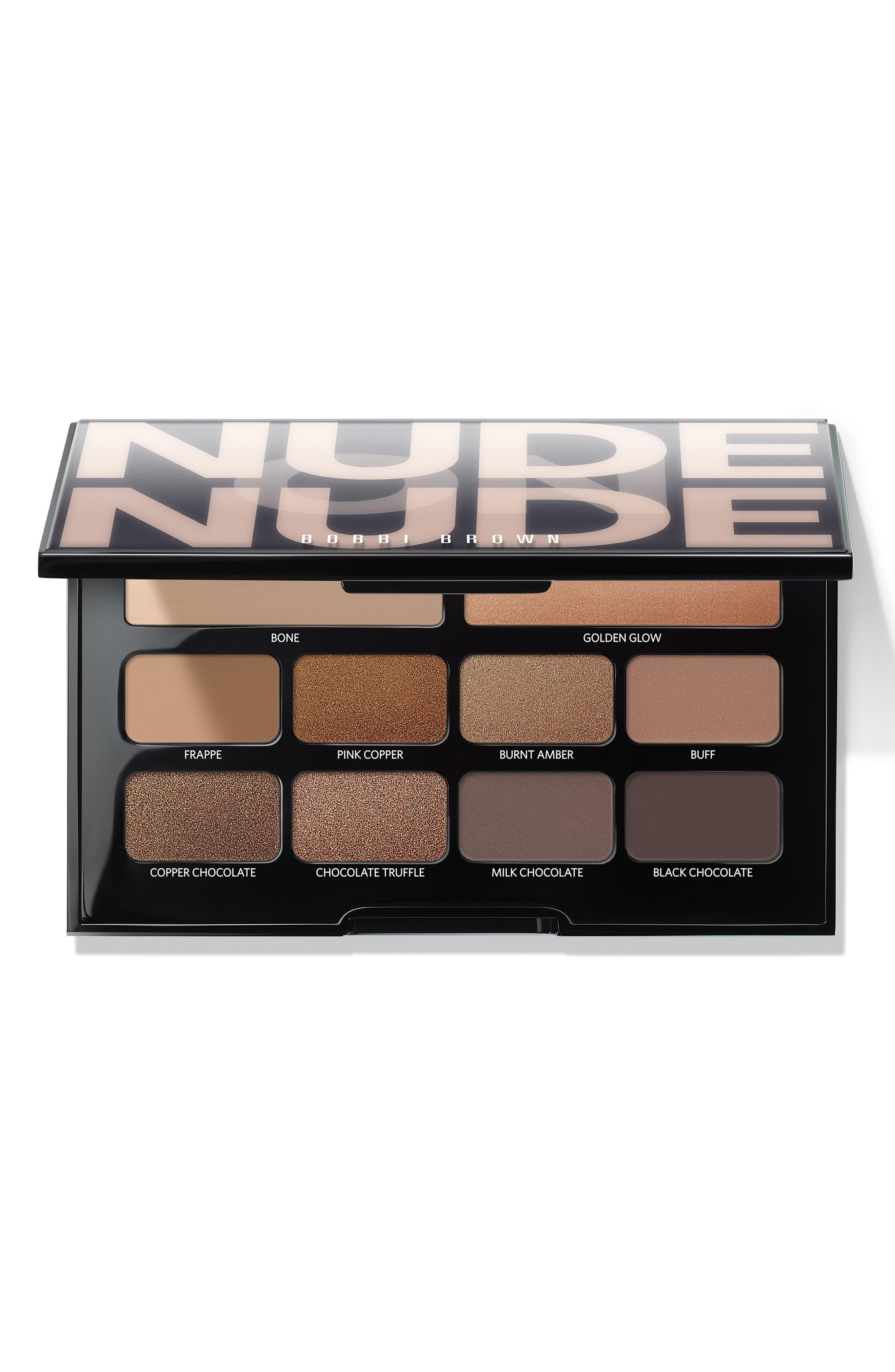 BOBBI BROWN, Nude on Nude Eyeshadow Palette, Main thumbnail 1, color, 200