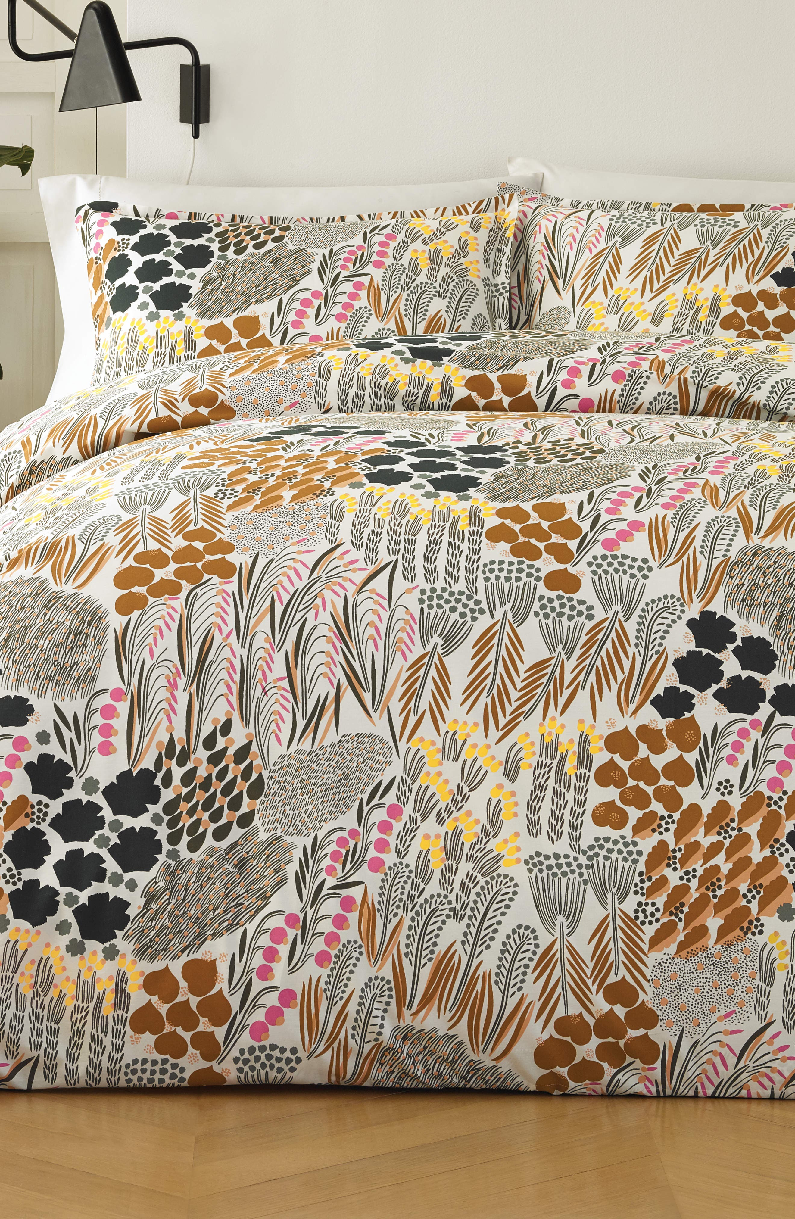 MARIMEKKO Pieni Letto Duvet Cover & Sham Set, Main, color, MULTI