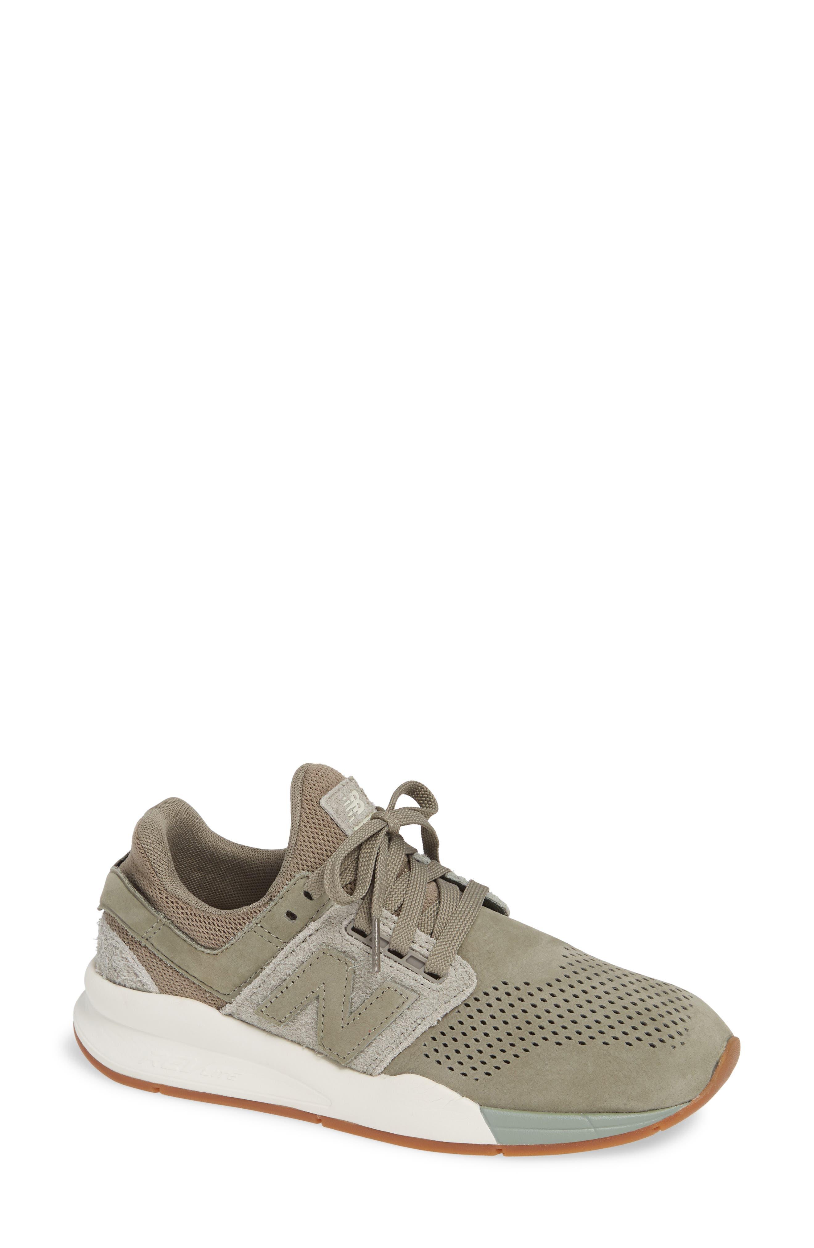 NEW BALANCE, Sport Style 247 Sneaker, Main thumbnail 1, color, MILITARY URBAN GREY