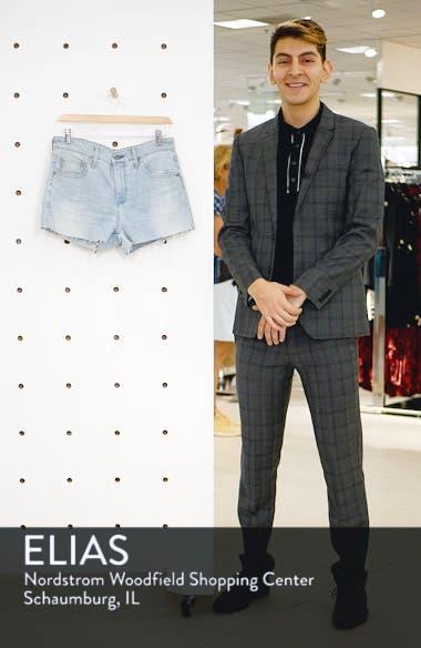 The Bryn High Waist Cutoff Denim Shorts, sales video thumbnail