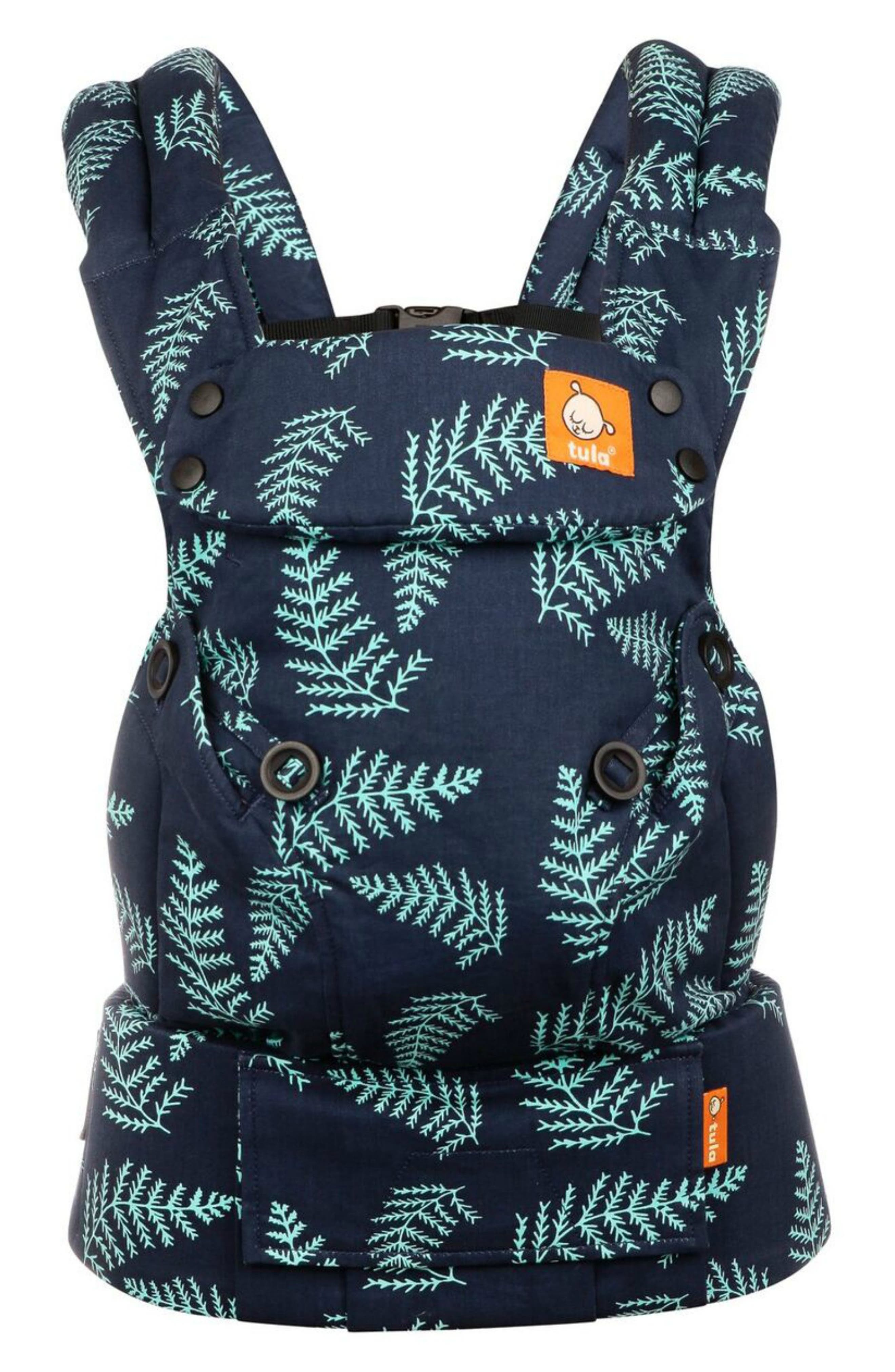 BABY TULA, Explore Front/Back Baby Carrier, Alternate thumbnail 2, color, EVER BLUE