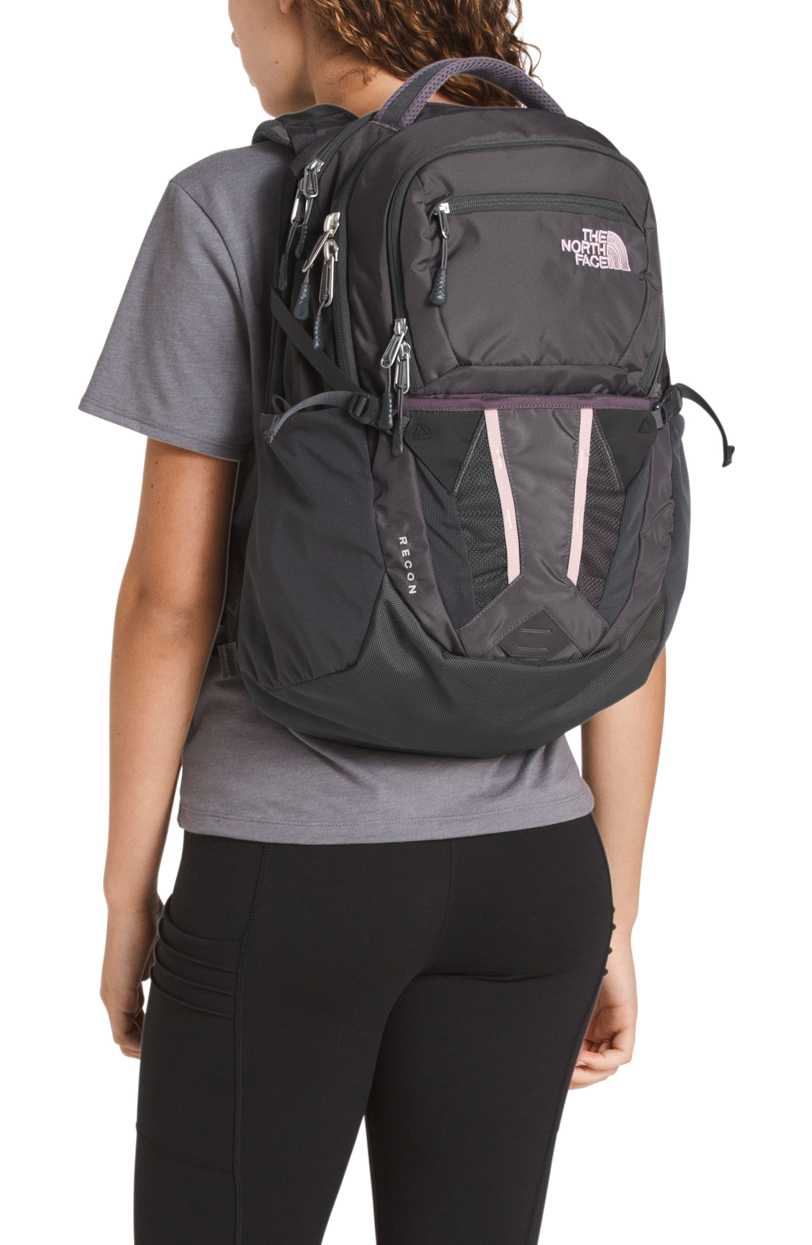 THE NORTH FACE, Recon Backpack, Alternate thumbnail 2, color, RABBIT GREY/ GREY