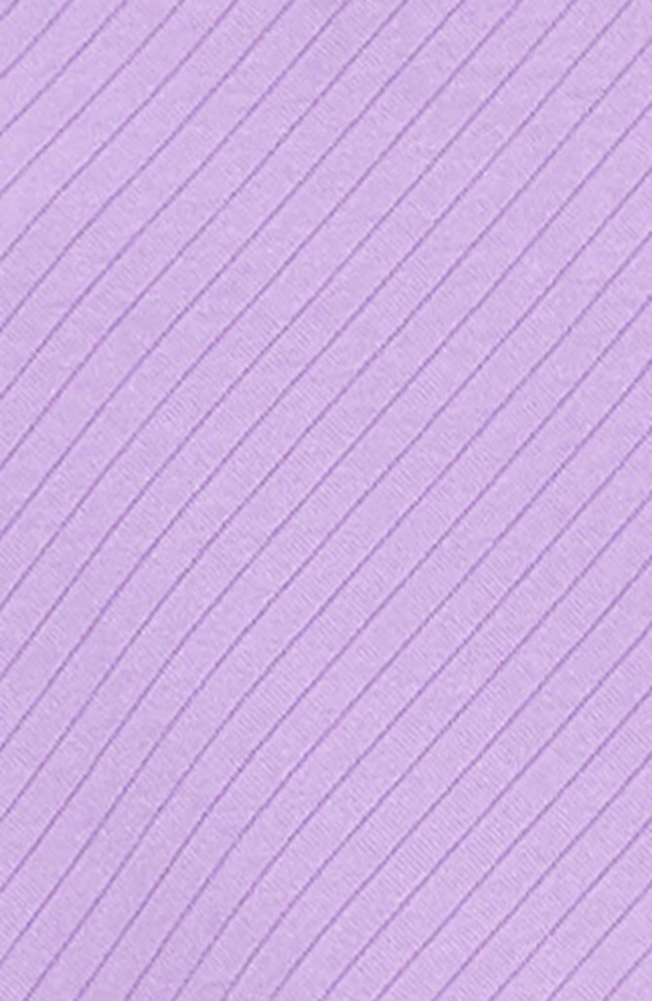 ZUNIE, Textured Skater Dress, Alternate thumbnail 3, color, LILAC