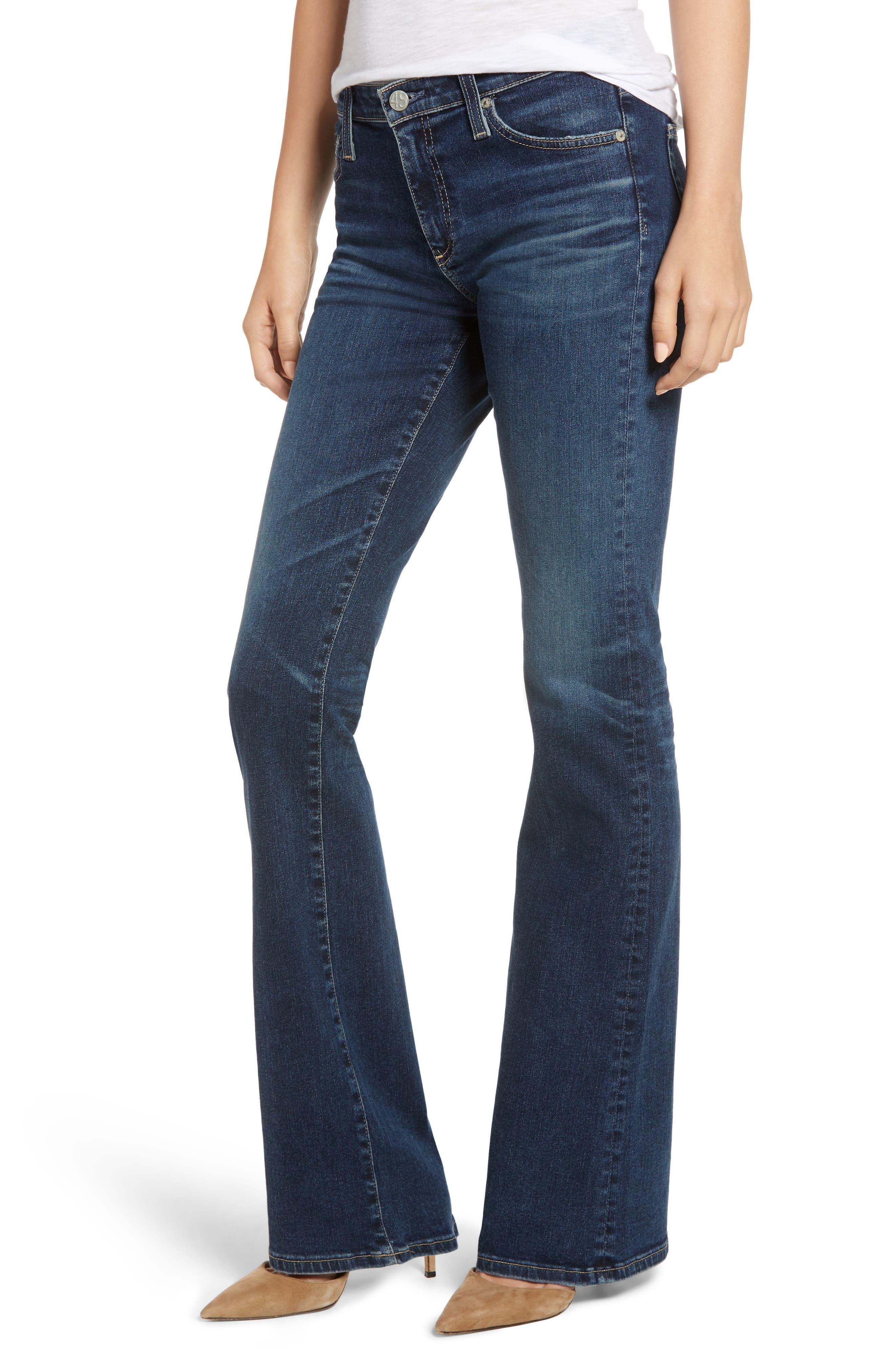 AG Angel Flare Jeans, Main, color, 10Y TRANSCENDENCE