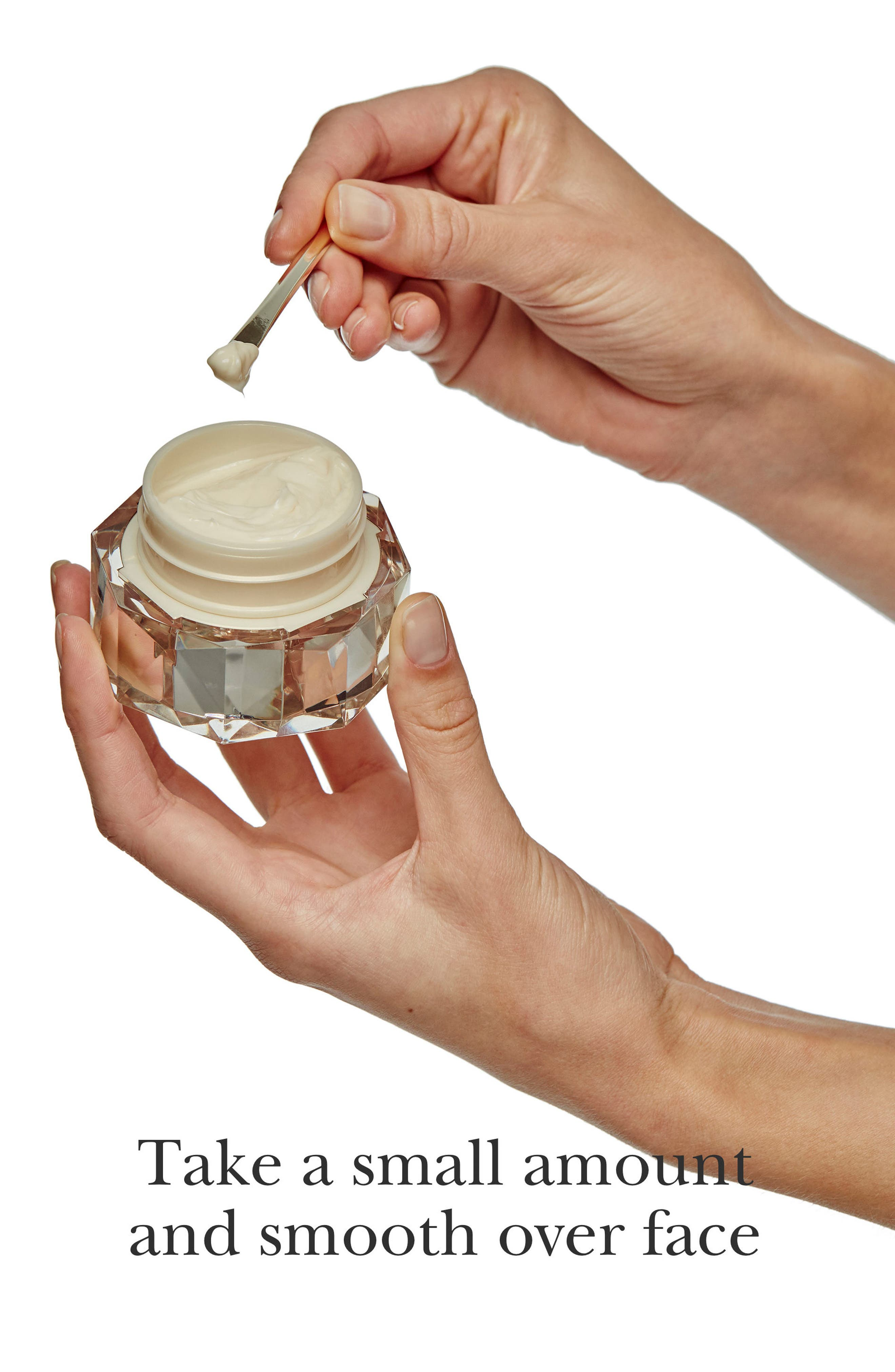 CLÉ DE PEAU BEAUTÉ, La Crème Face Cream, Alternate thumbnail 3, color, NO COLOR