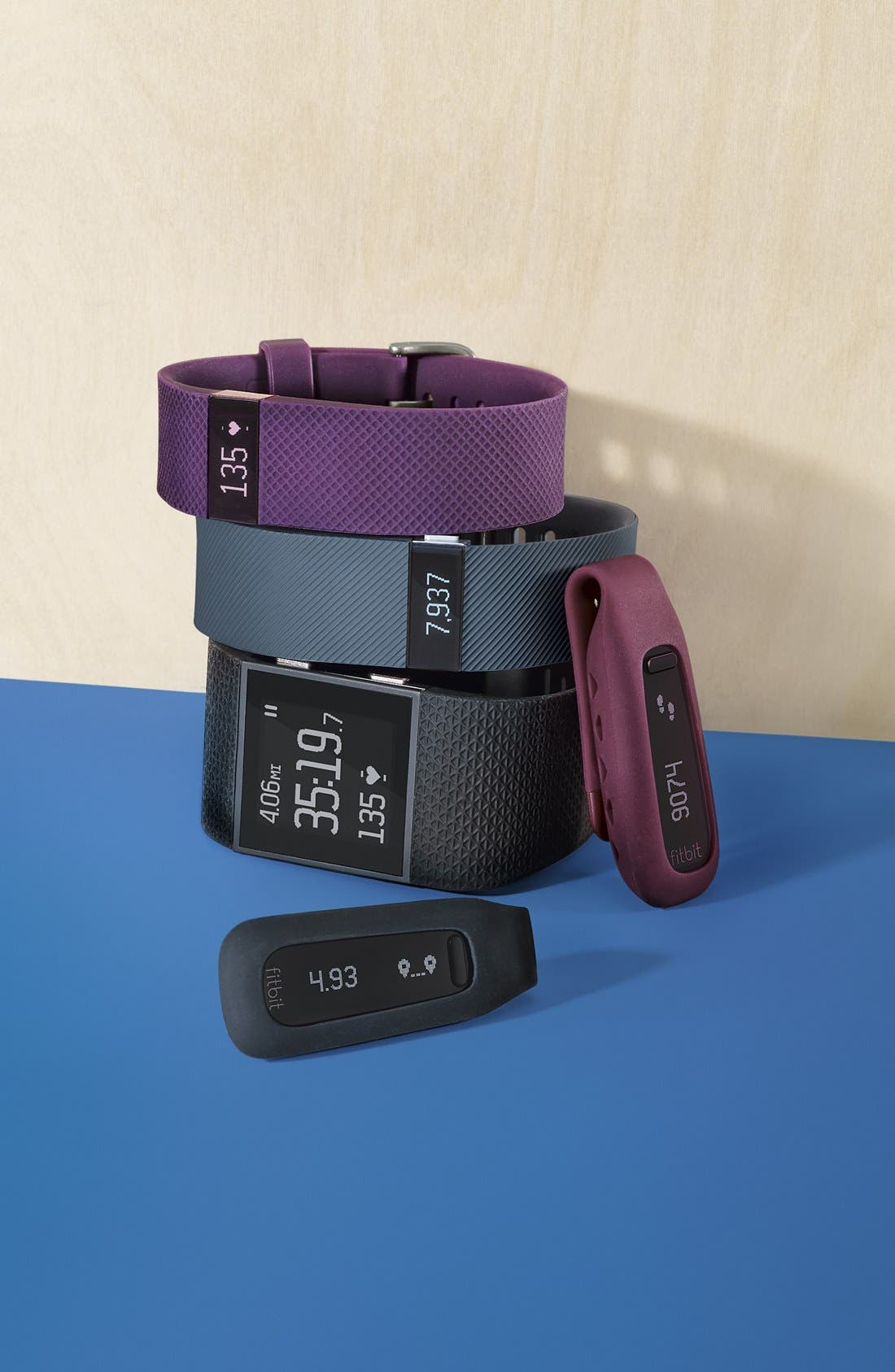FITBIT, 'One' Wireless Activity & Sleep Tracker, Alternate thumbnail 6, color, 930
