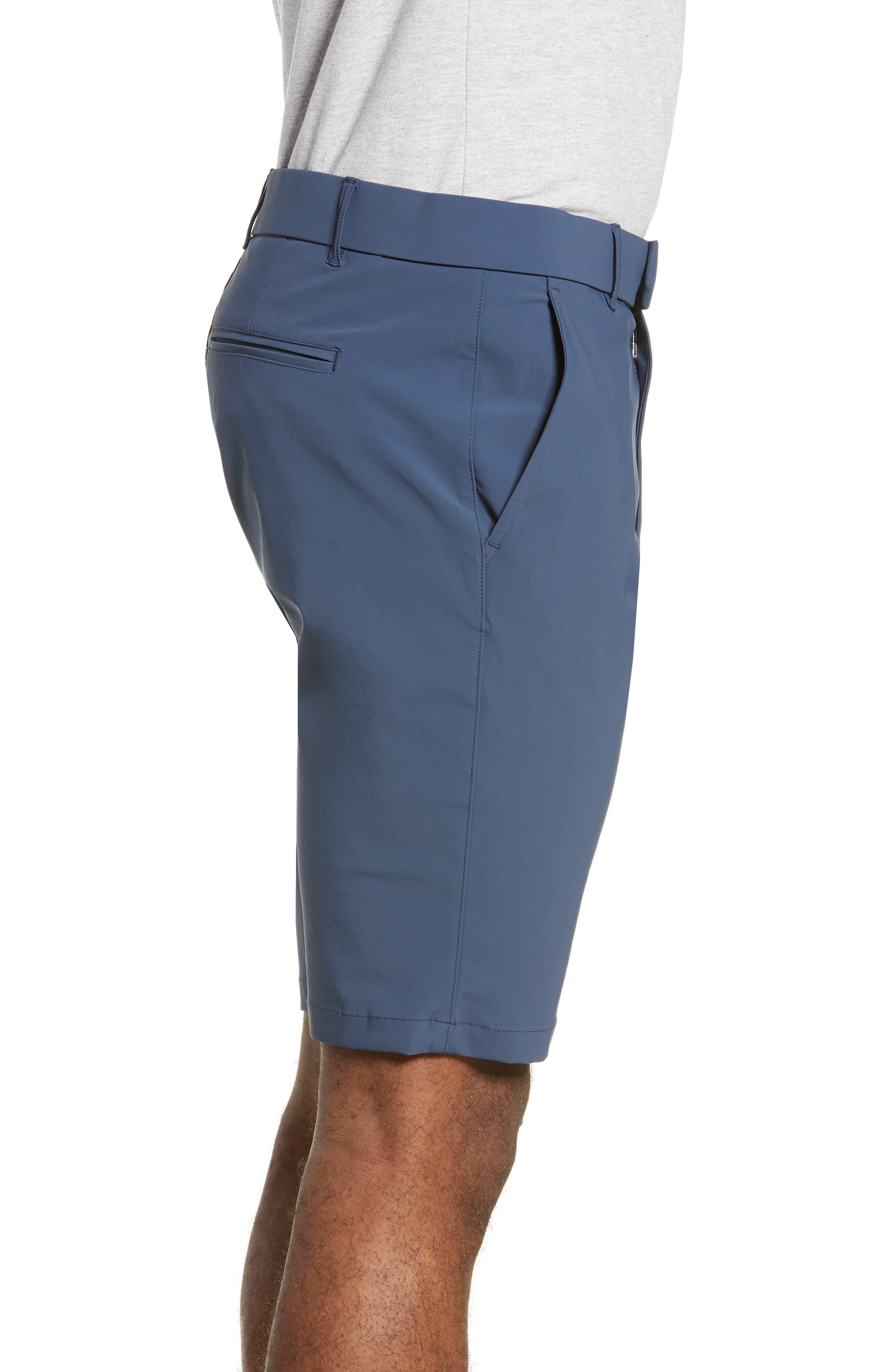 GREYSON, Montauk Technical Shorts, Alternate thumbnail 4, color, EEL