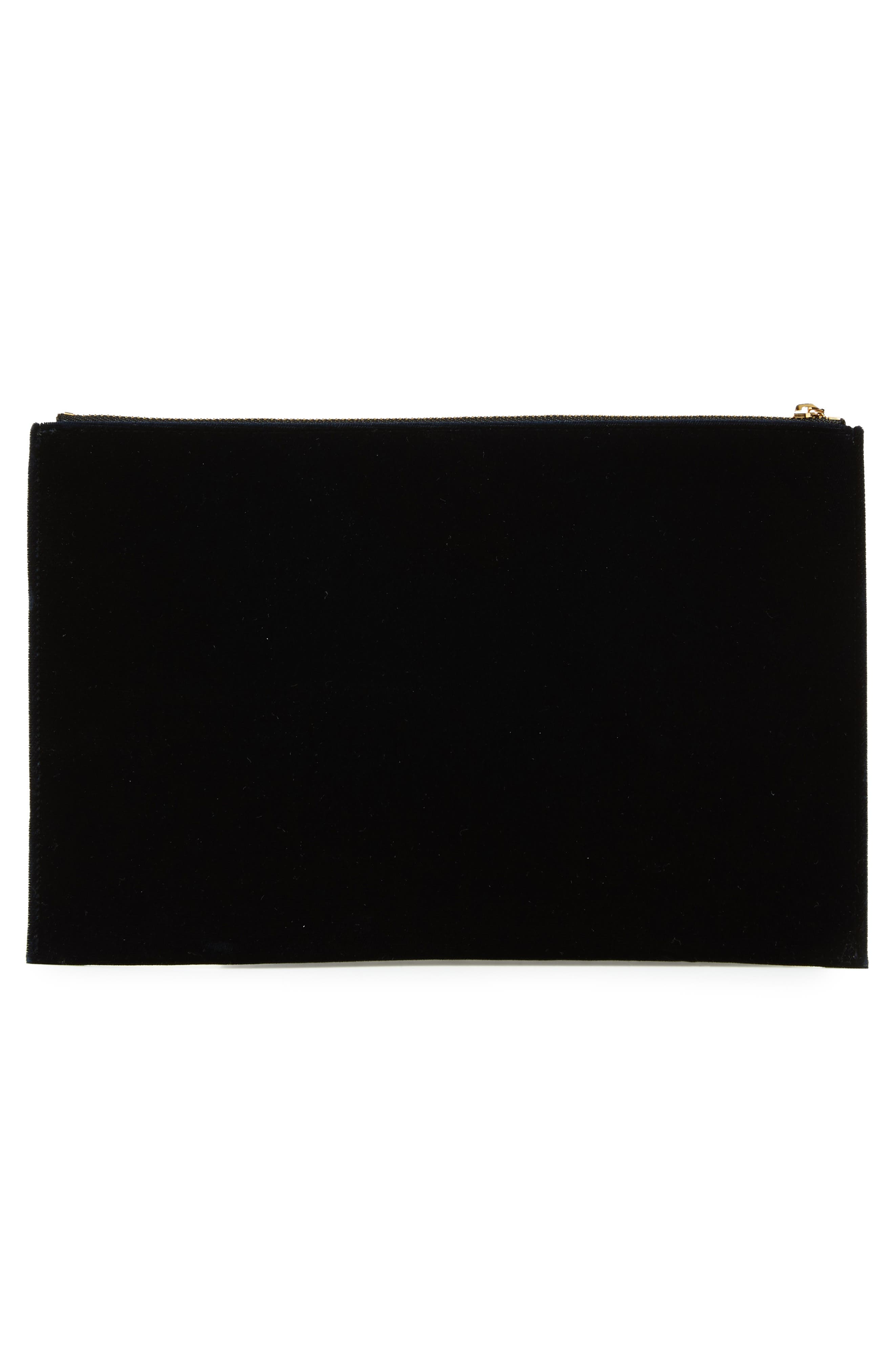 VICTORIA BECKHAM, Small Zip Pouch, Alternate thumbnail 3, color, 400