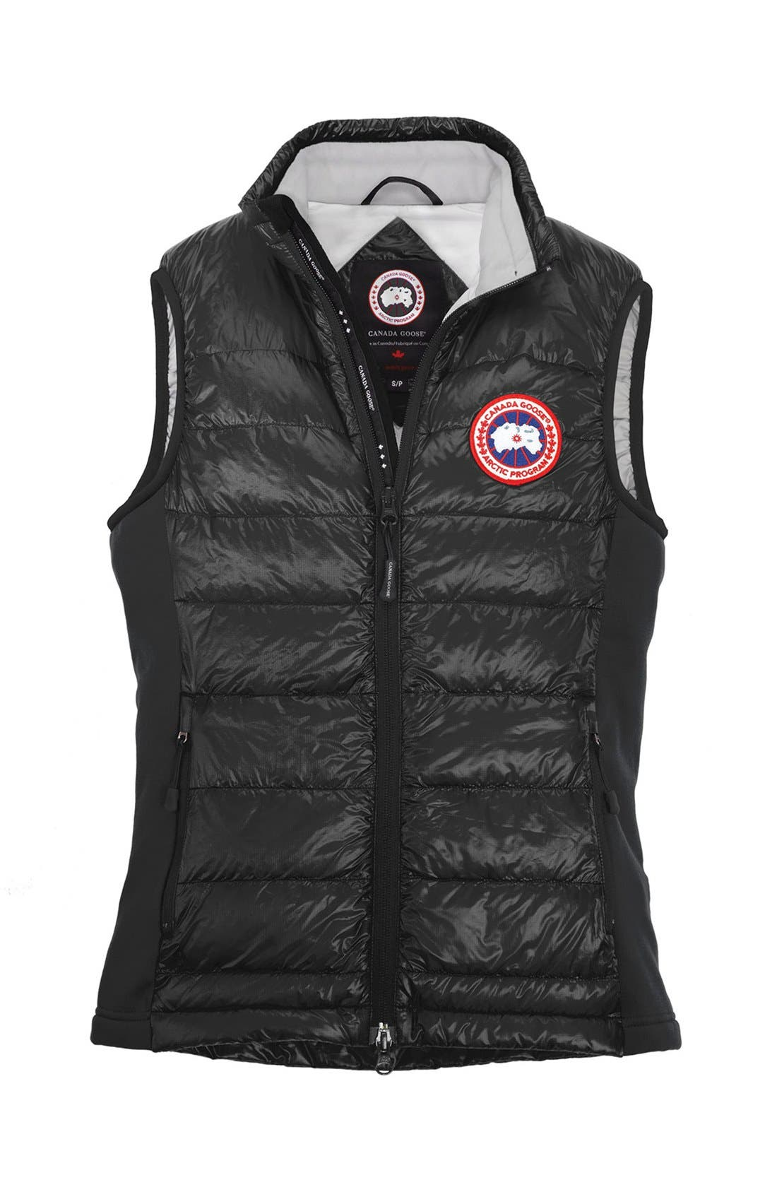 CANADA GOOSE, 'Hybridge Lite' Slim Fit Packable Down Vest, Alternate thumbnail 2, color, 001