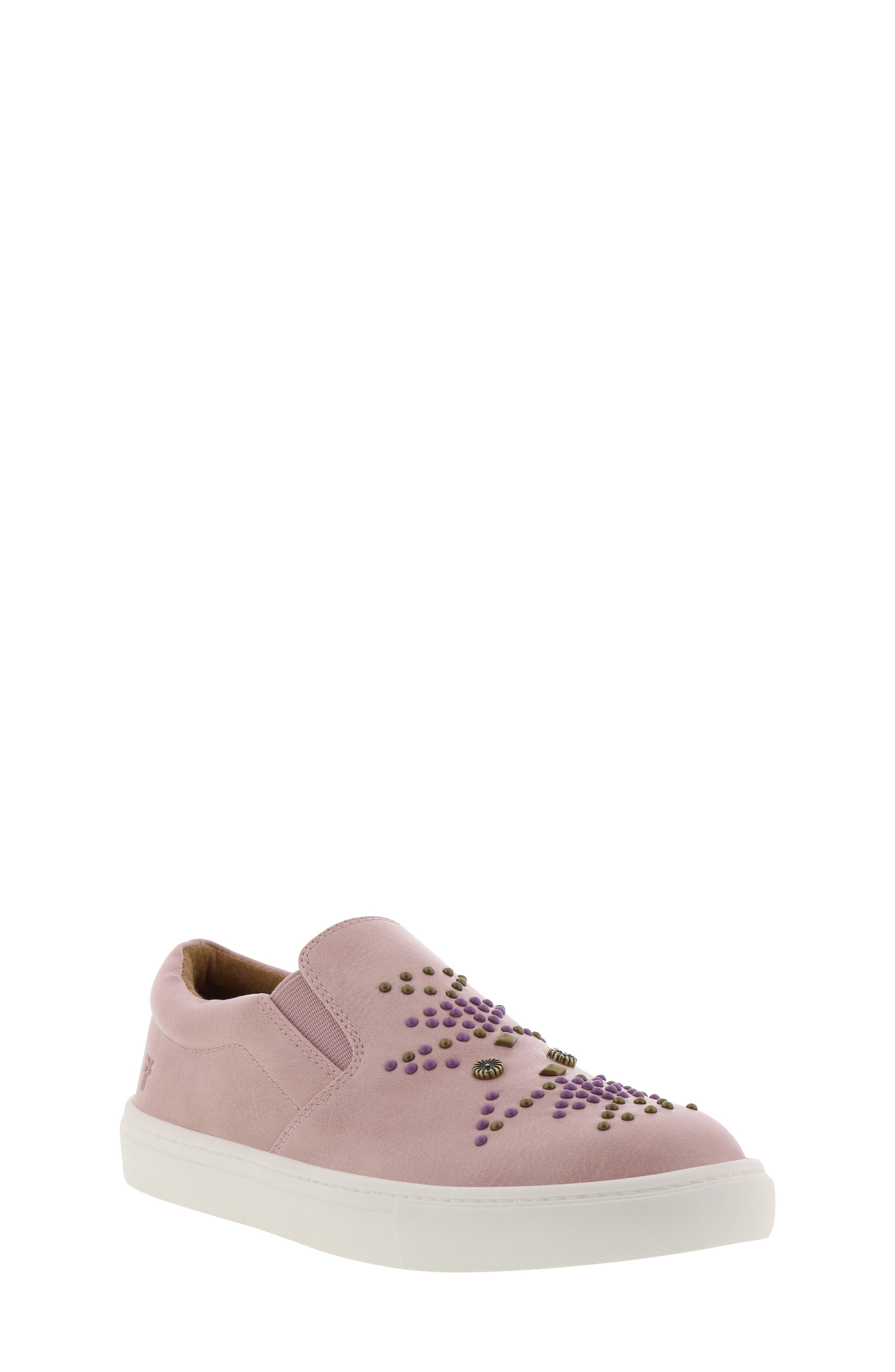 FRYE Lena Studded Sneaker, Main, color, 686