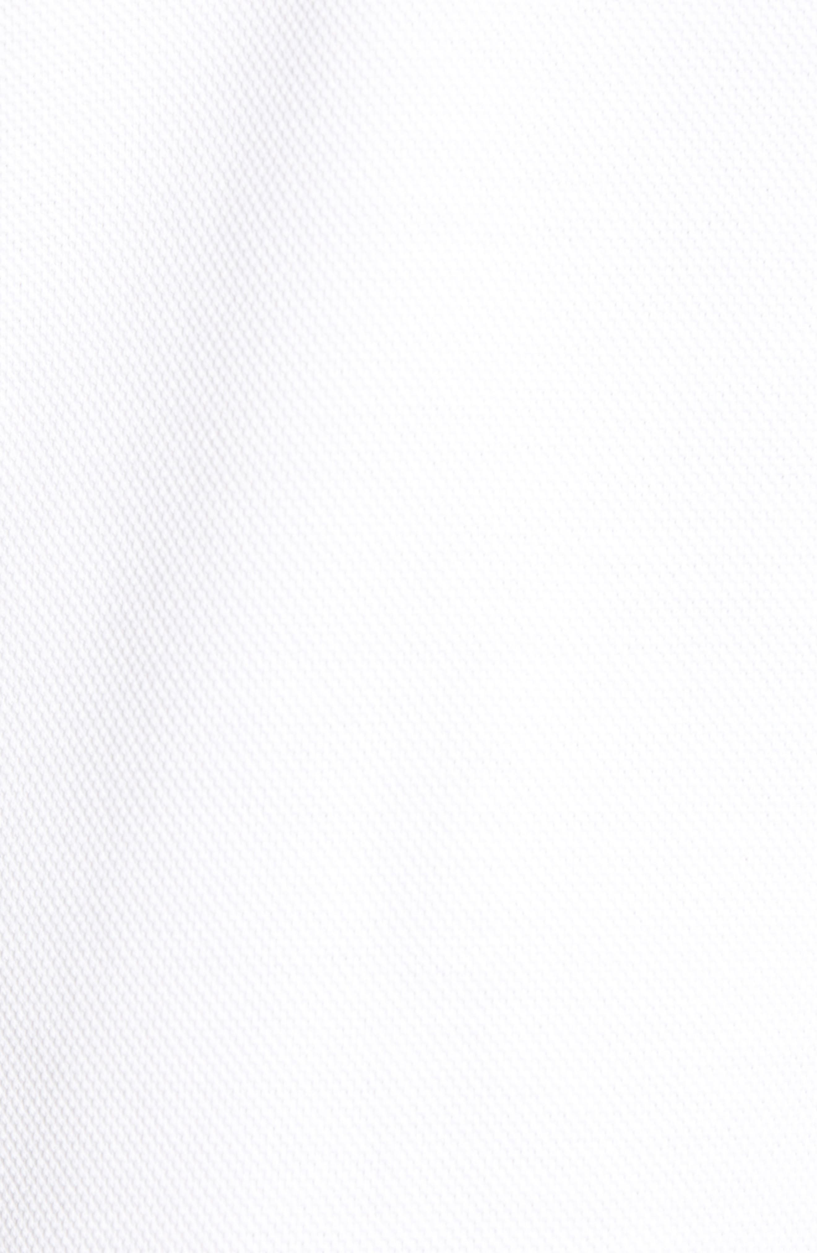 THE RAIL, Piqué Polo, Alternate thumbnail 5, color, WHITE