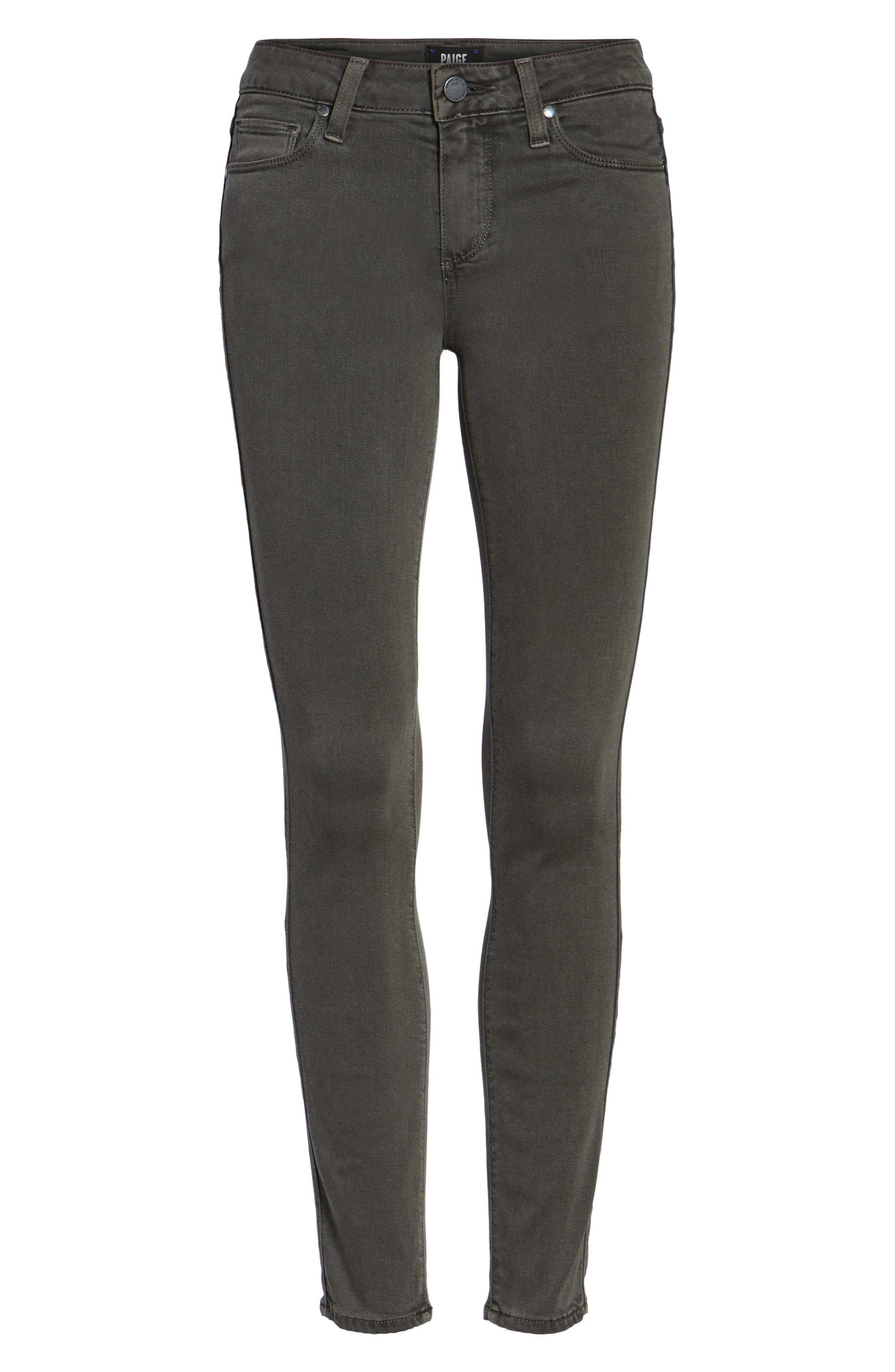 PAIGE, Transcend - Verdugo Ankle Skinny Jeans, Alternate thumbnail 6, color, 021
