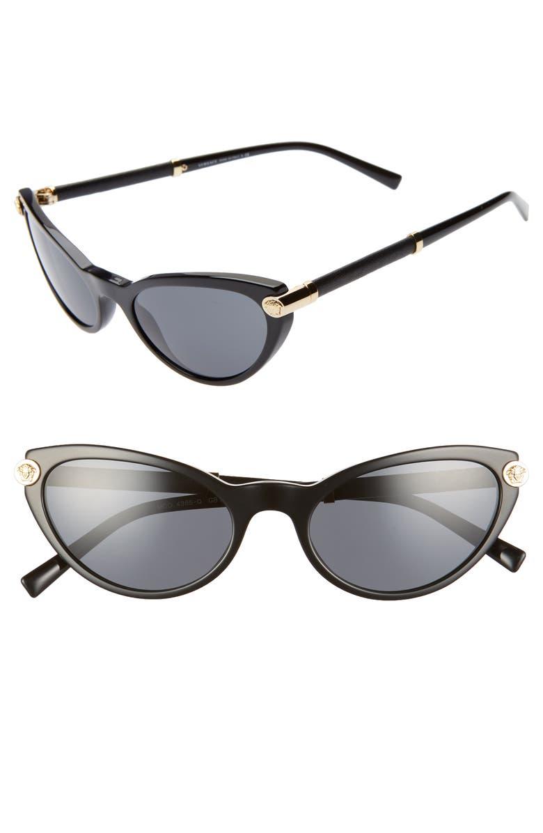 3af8fd156c8b Versace 54mm Cat Eye Sunglasses
