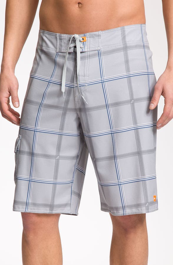bacb0f9268 Quiksilver Waterman 'Square Root' Diamond Dobby™ Board Shorts (Men) |  Nordstrom