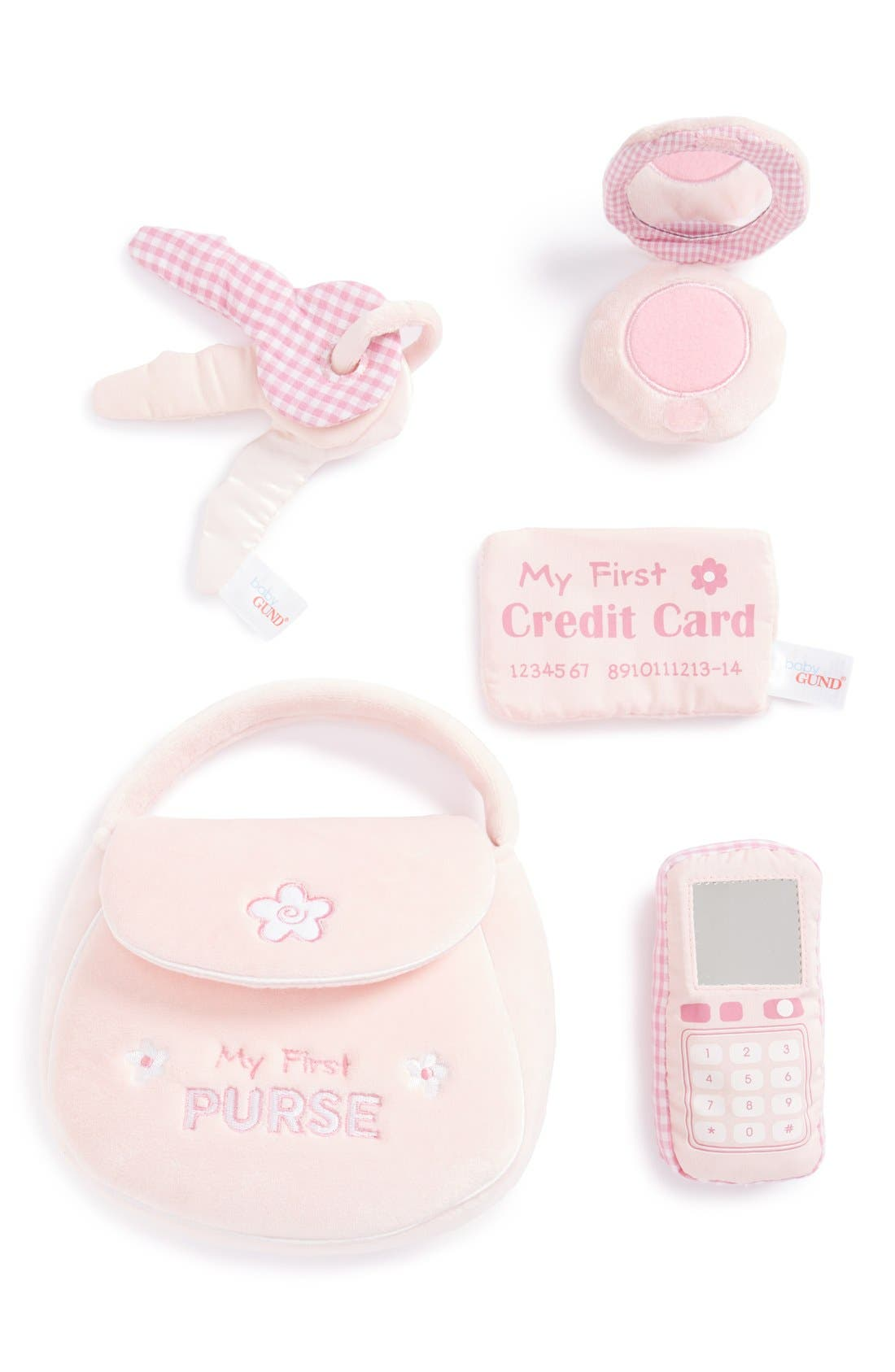 GUND, Baby Gund 'My First Purse' Play Set, Main thumbnail 1, color, 650
