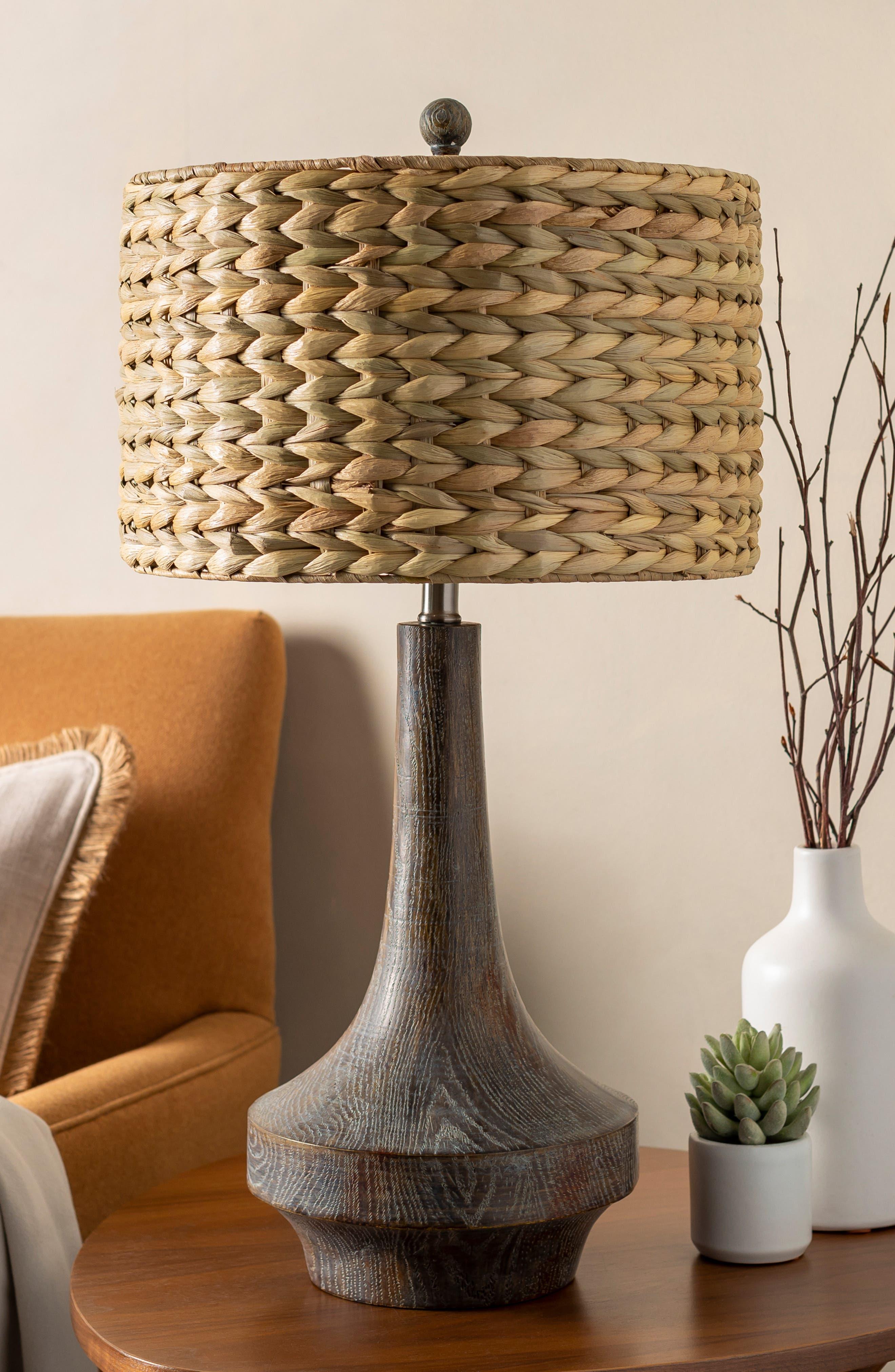 SURYA HOME, Carson Table Lamp, Alternate thumbnail 10, color, CAMEL