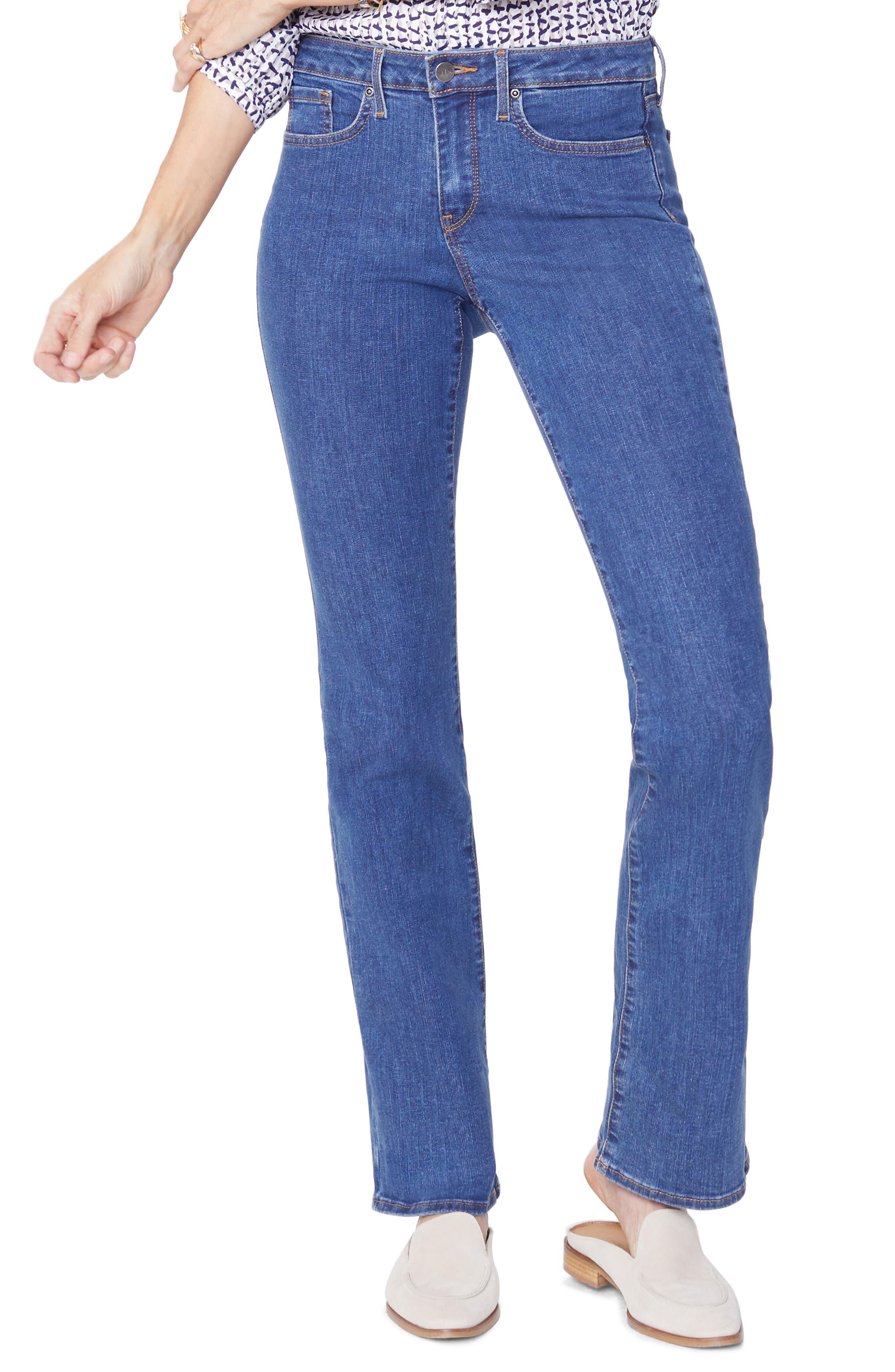 NYDJ, Barbara Stretch Bootcut Jeans, Main thumbnail 1, color, BATIK BLUE