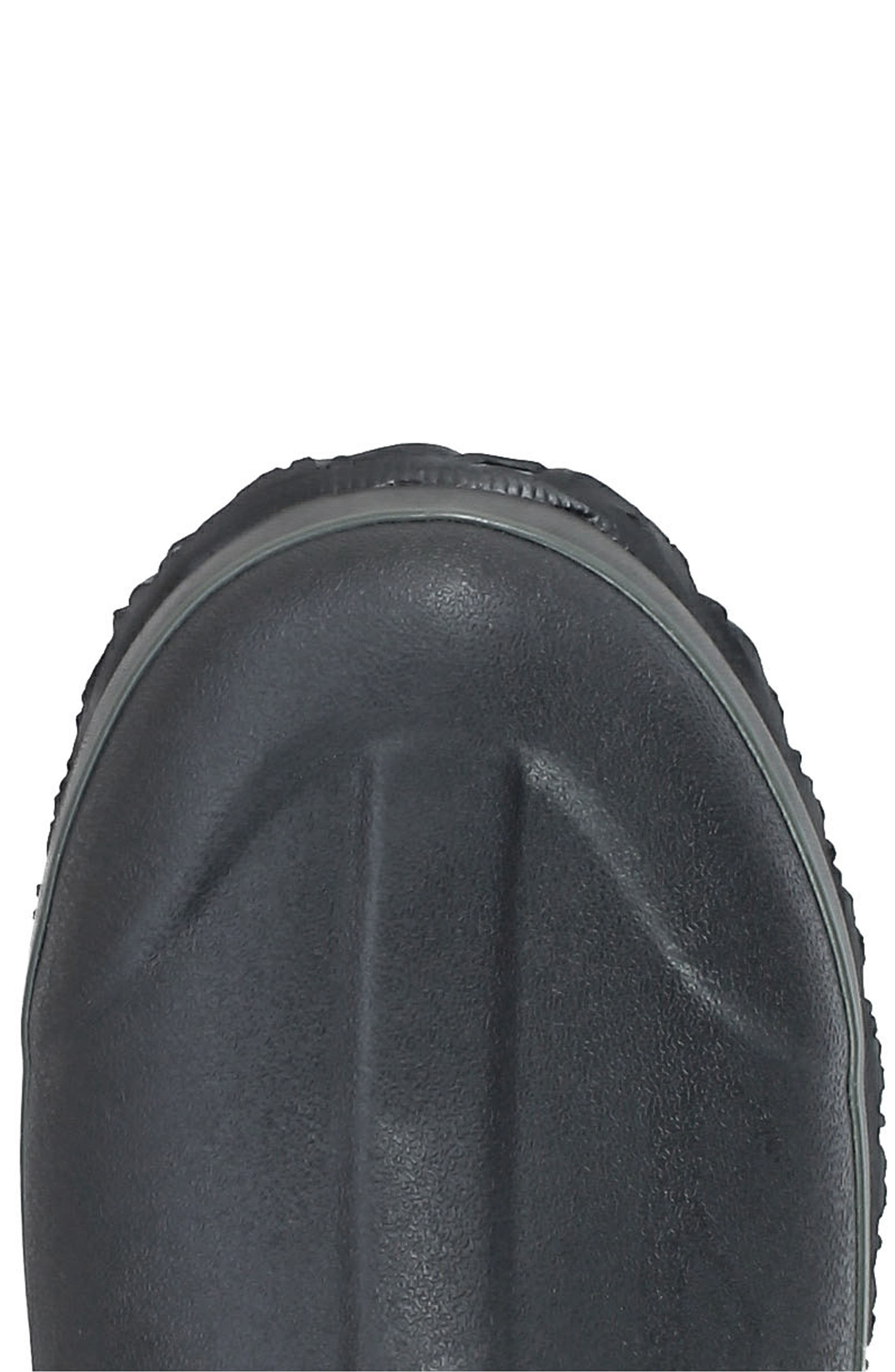 BOGS, Classic Tall Waterproof Snow Boot, Alternate thumbnail 5, color, BLACK