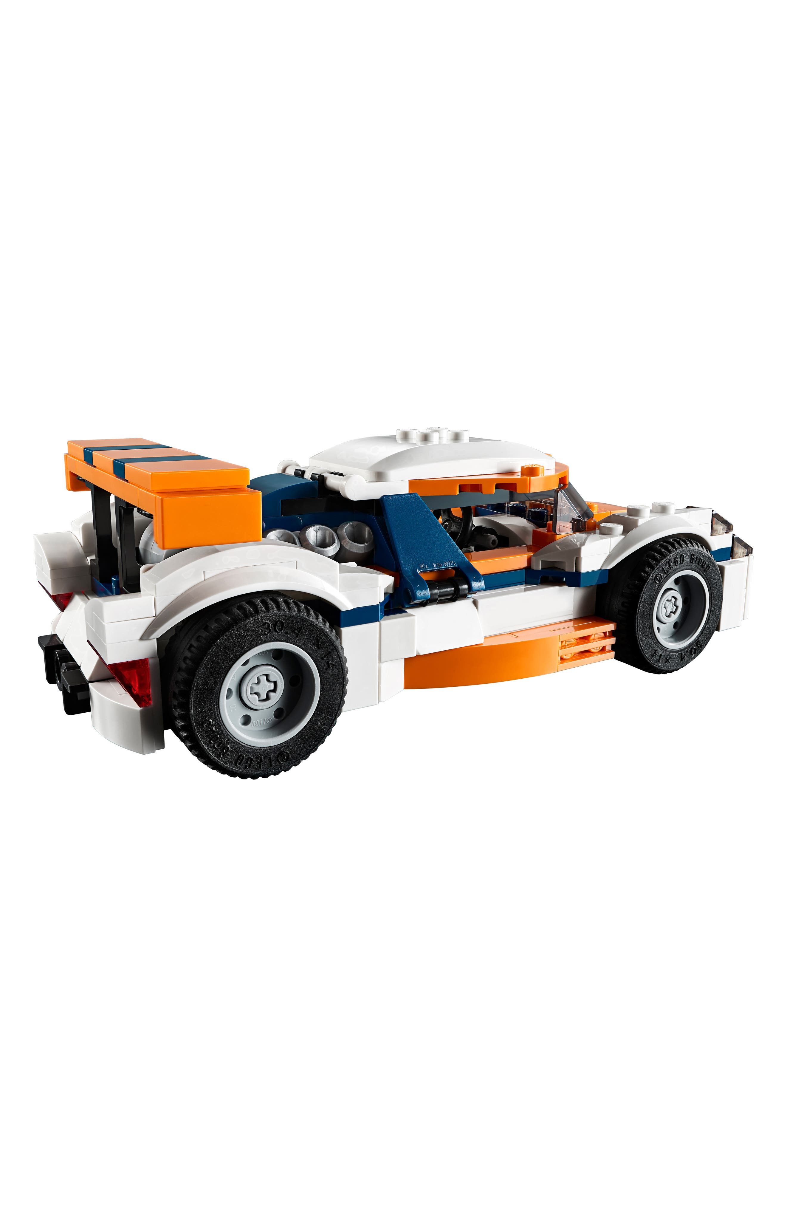 LEGO<SUP>®</SUP>, Creator 3-in-1 Sunset Track Racer - 31089, Alternate thumbnail 2, color, 960