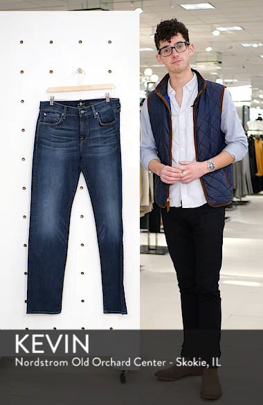 Luxe Performance Standard Straight Leg Jeans, sales video thumbnail