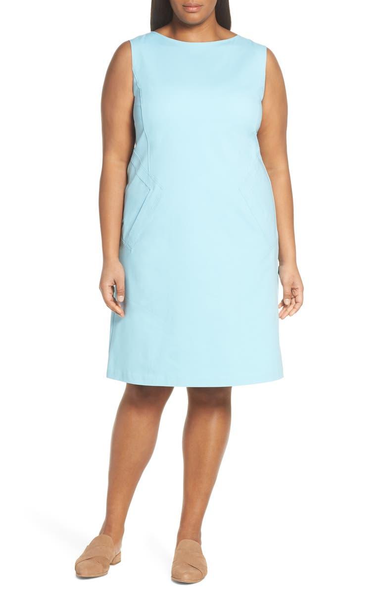 Lafayette 148 Dresses ENSLEY SHEATH DRESS