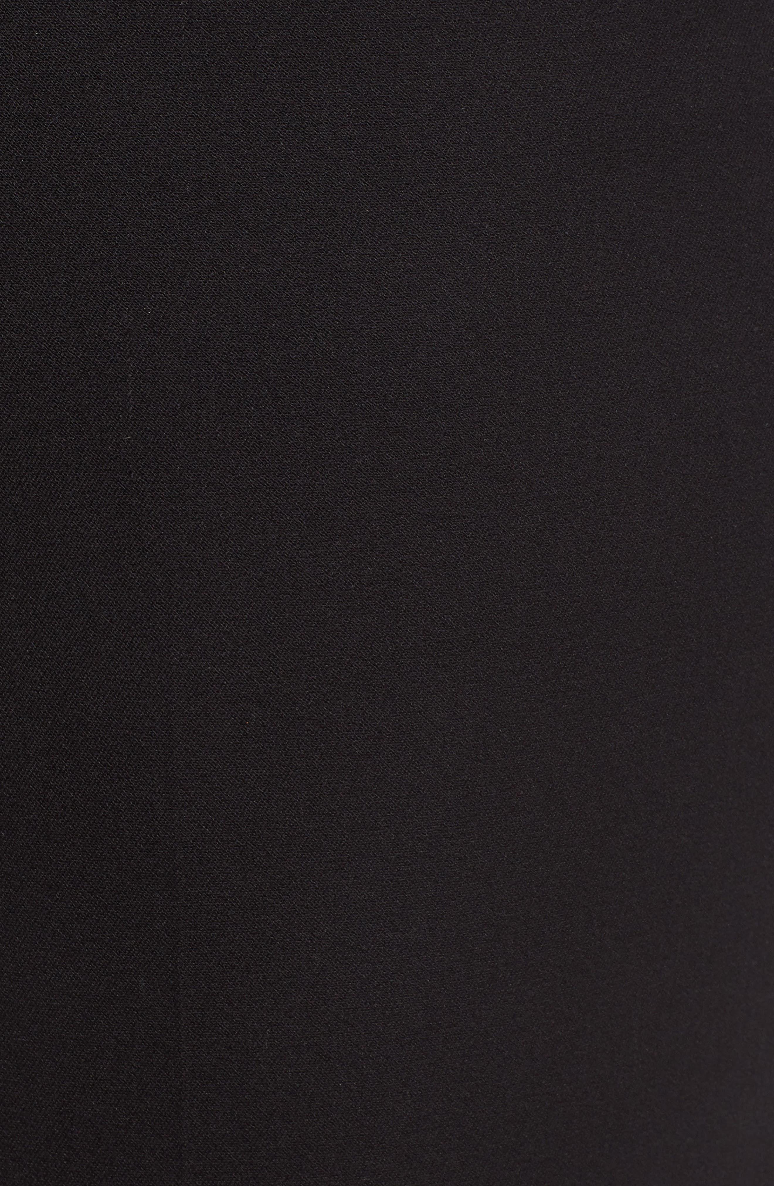 HALOGEN<SUP>®</SUP>, Ankle Pants, Alternate thumbnail 6, color, BLACK