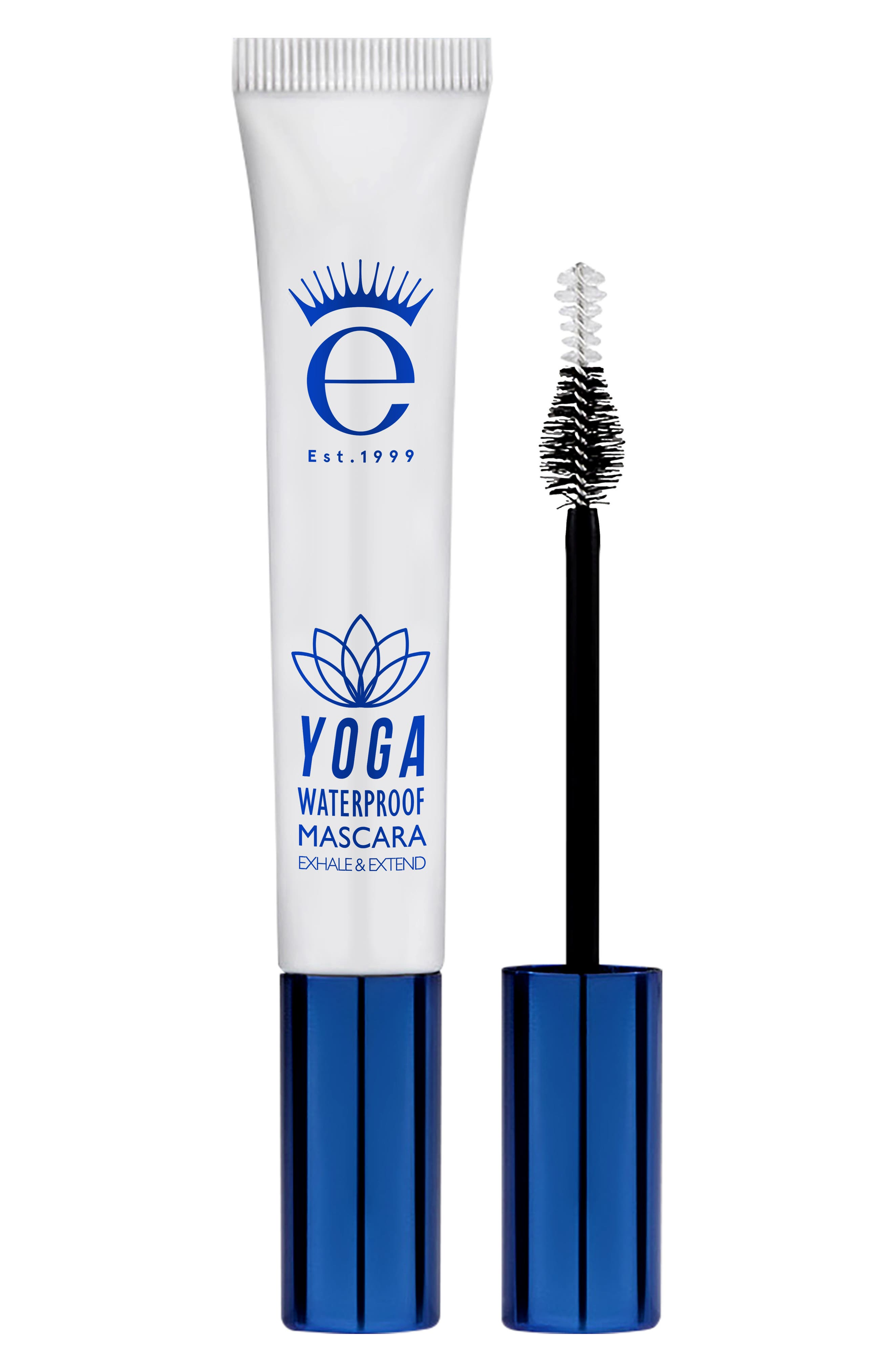 EYEKO, Yoga Waterproof Mascara, Main thumbnail 1, color, BLACK