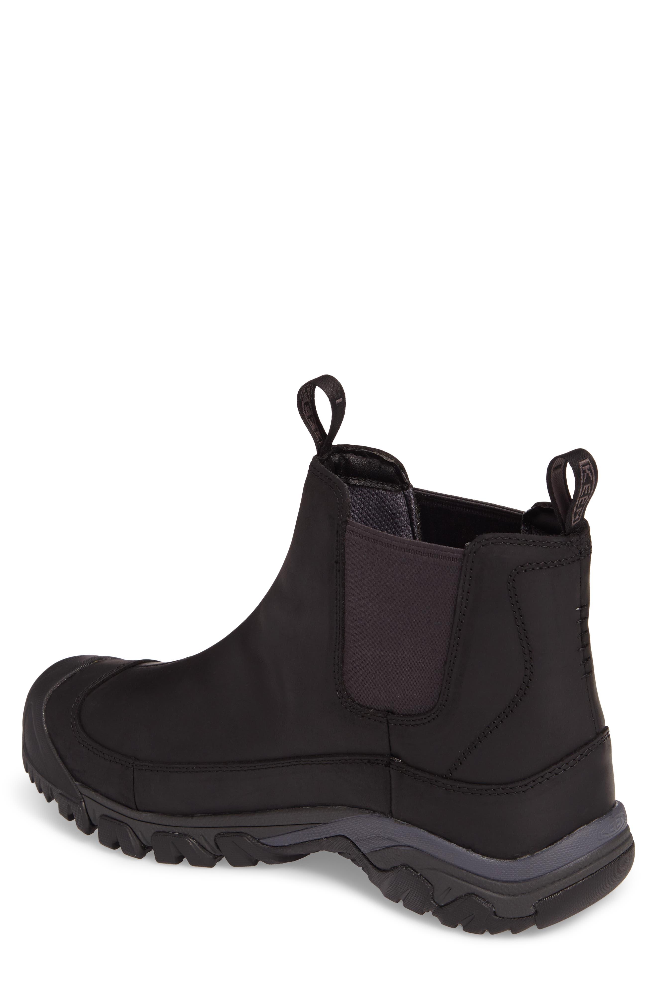 KEEN, Anchorage II Waterproof Chelsea Boot, Alternate thumbnail 2, color, 001