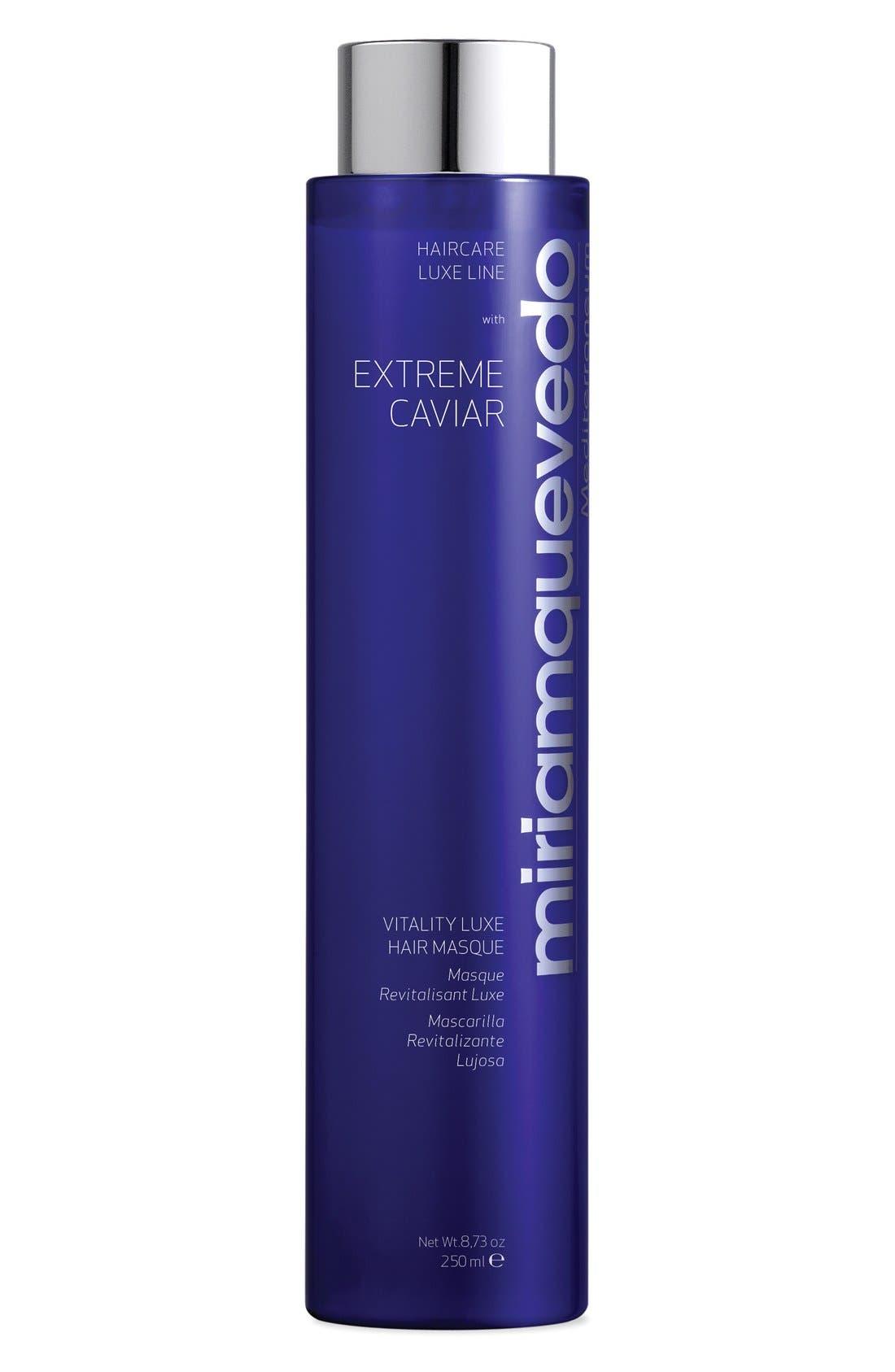 MIRIAM QUEVEDO, SPACE.NK.apothecary Miriam Quevedo Extreme Caviar Intensive Anti-Aging Luxe Masque, Main thumbnail 1, color, NO COLOR