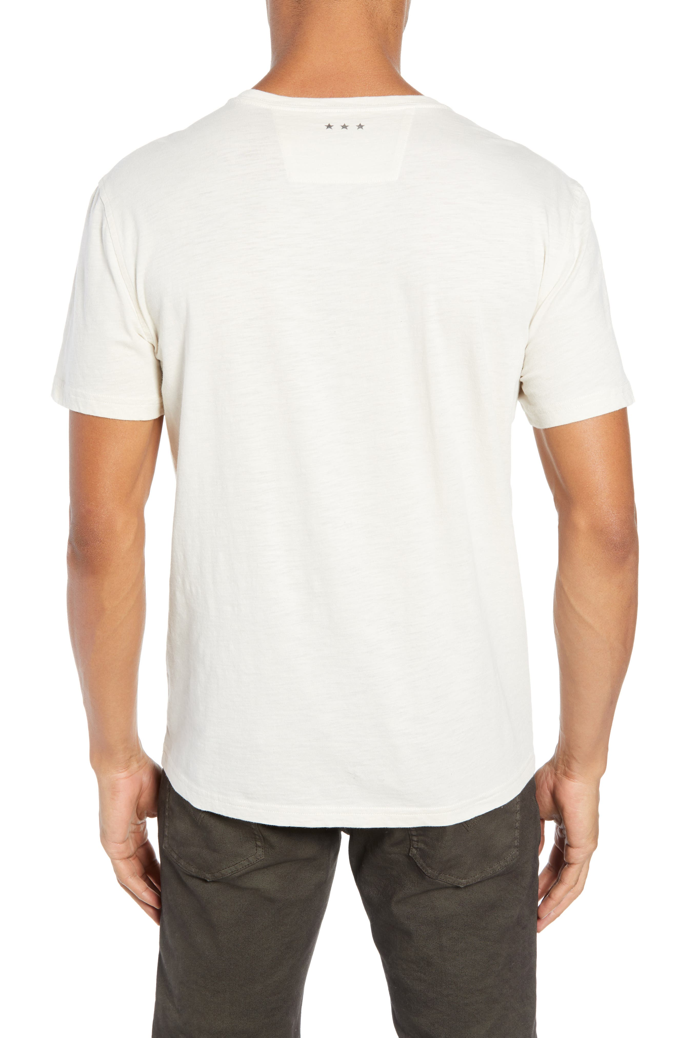 JOHN VARVATOS STAR USA, What the World Needs Now Graphic T-Shirt, Alternate thumbnail 2, color, 107