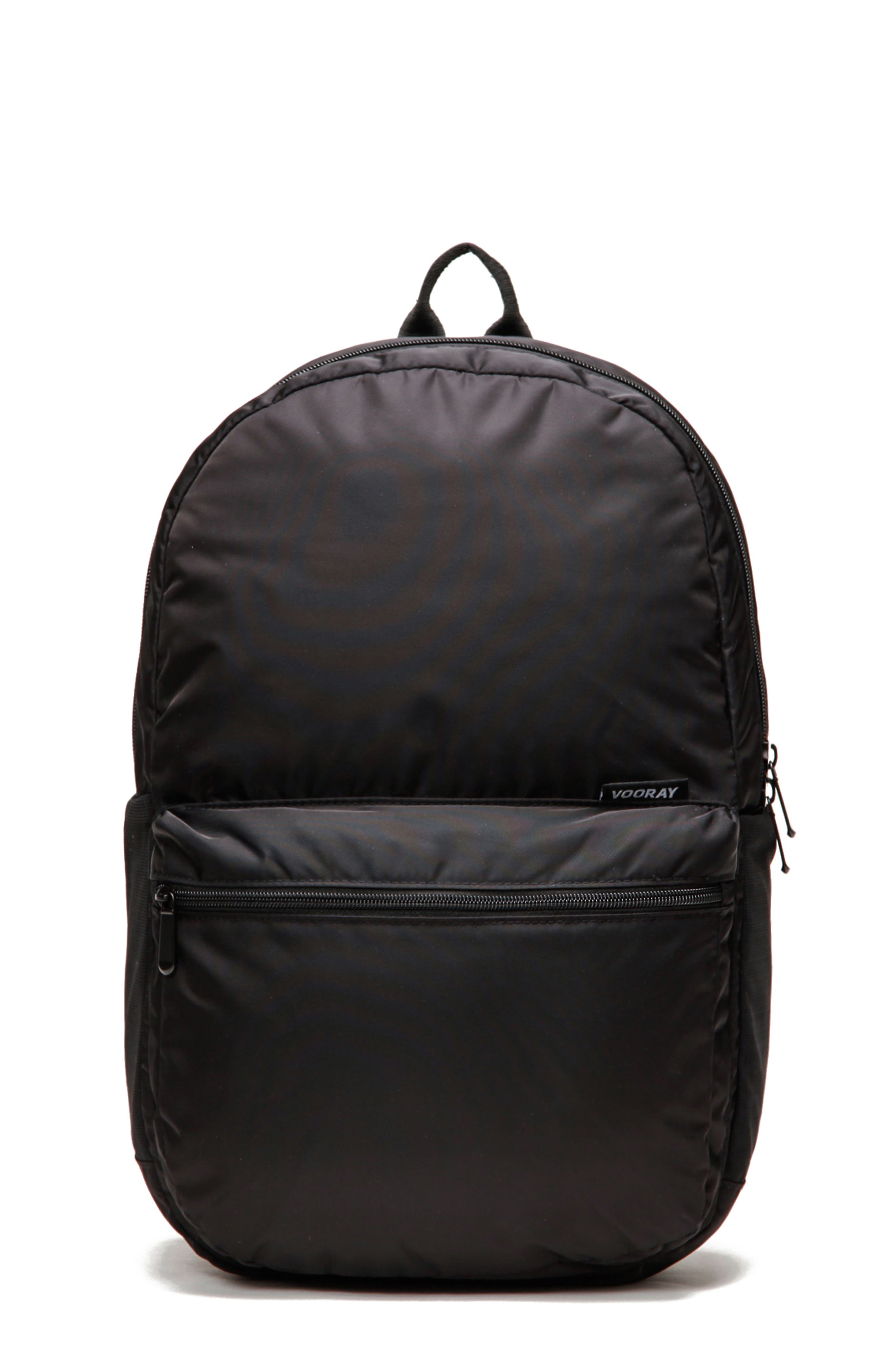 VOORAY, Ace Backpack, Main thumbnail 1, color, BLACK NYLON