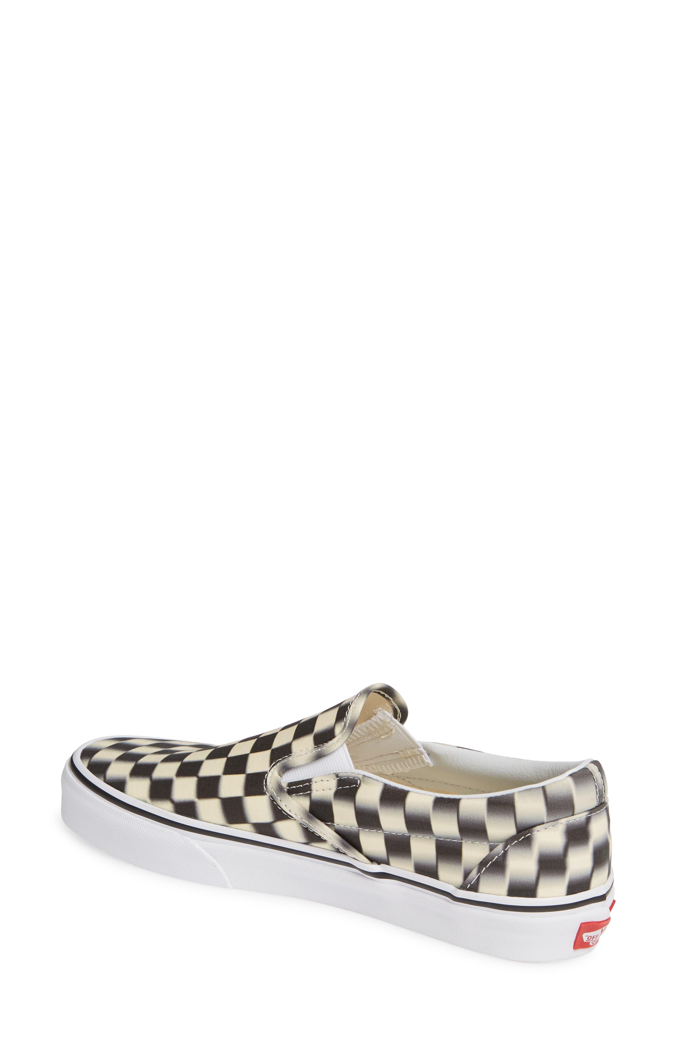 VANS, Classic Slip-On Sneaker, Alternate thumbnail 2, color, 011