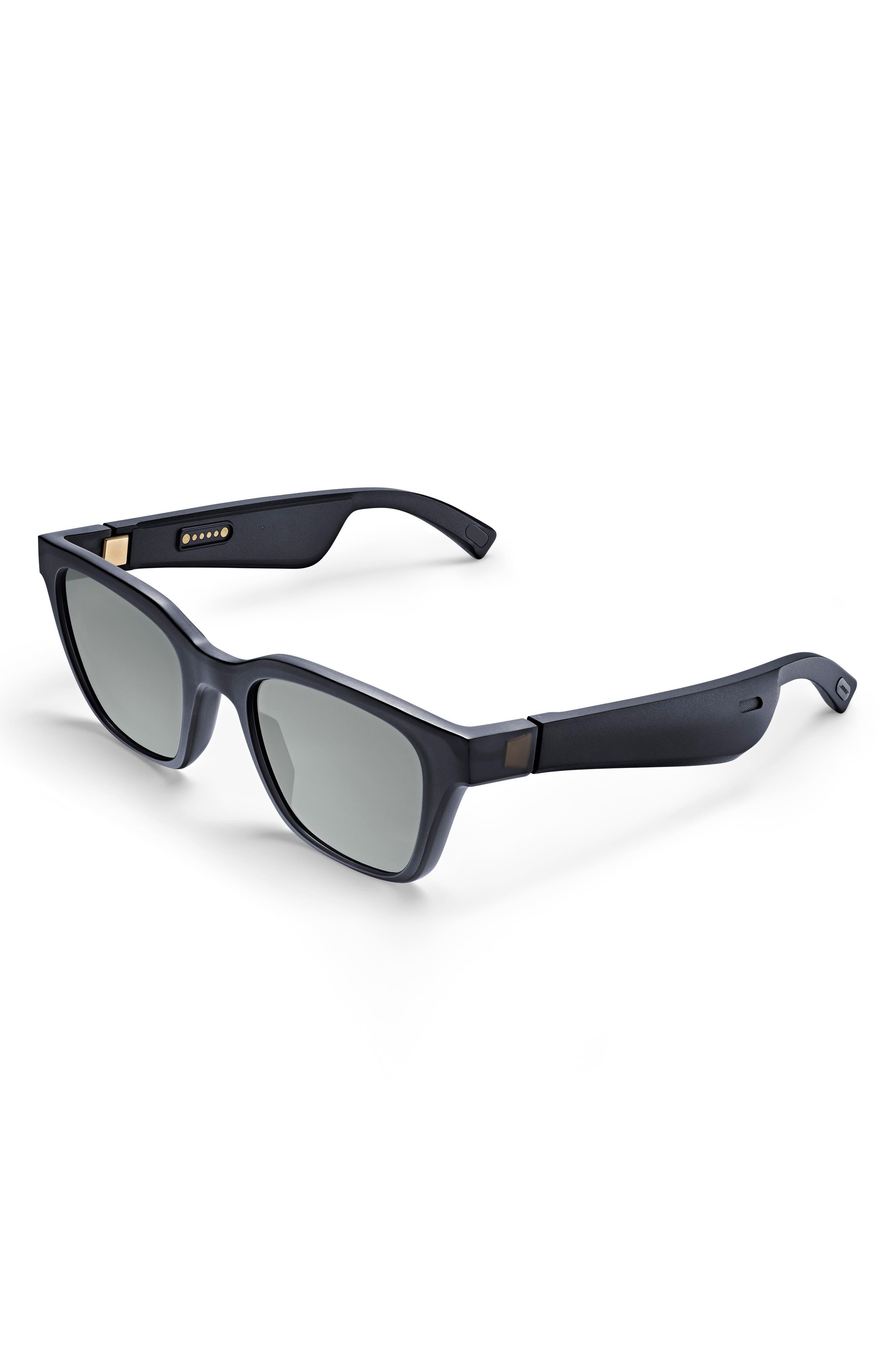 BOSE<SUP>®</SUP>, Frames Alto 52mm Audio Sunglasses, Main thumbnail 1, color, BLACK